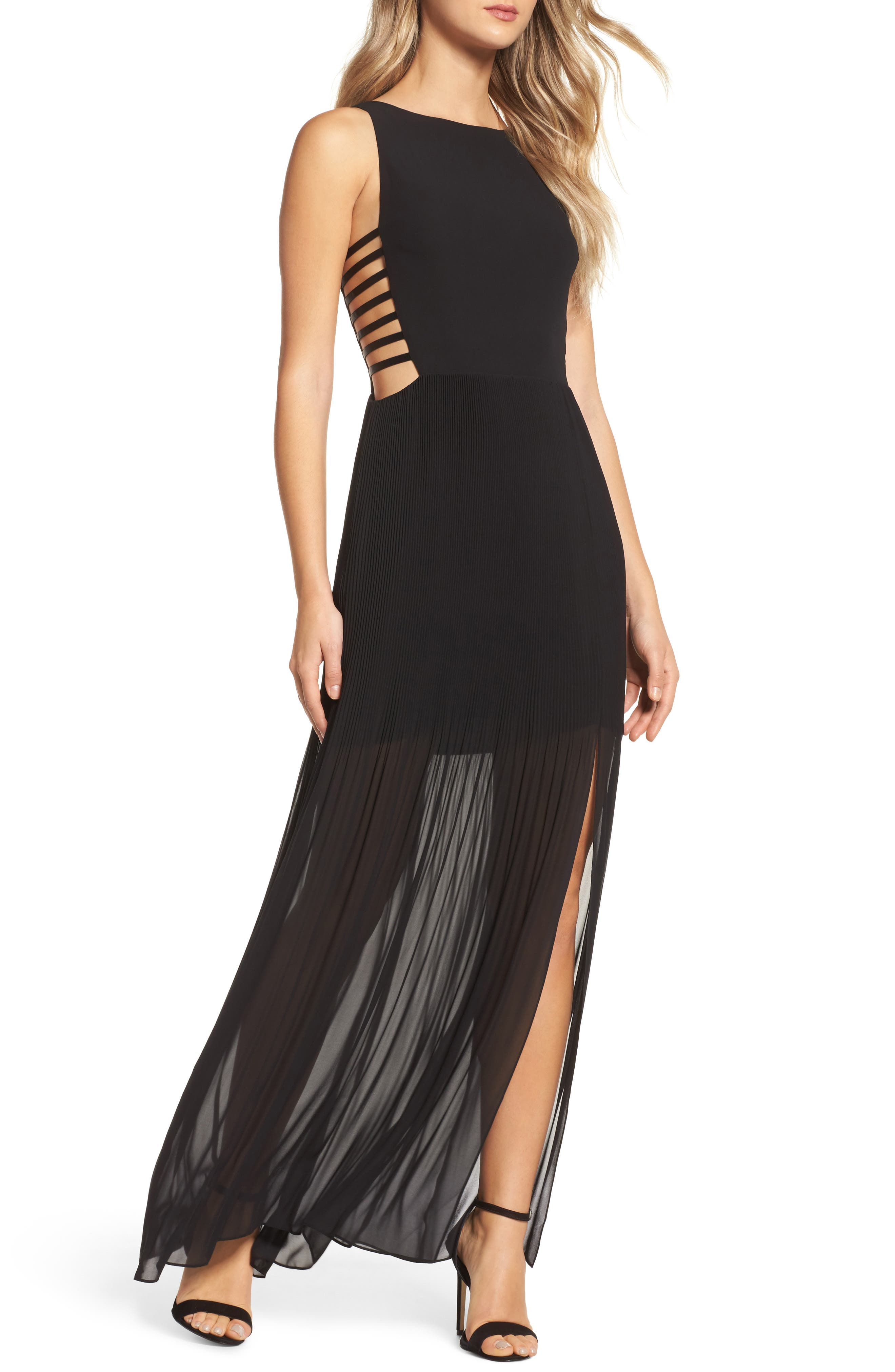 Sunset Blvd Maxi Dress,                             Main thumbnail 1, color,                             001