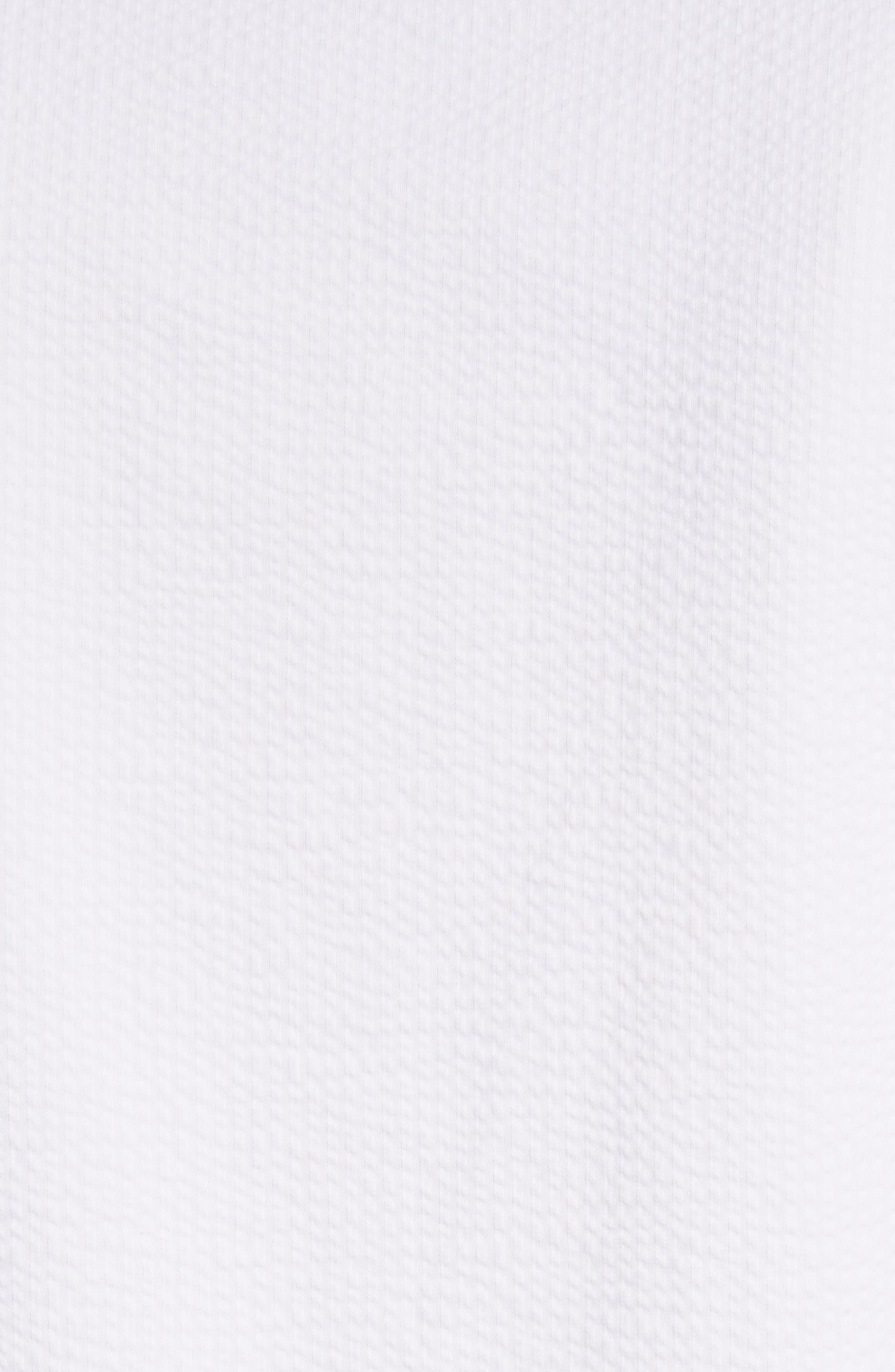 Seersucker Shift Dress,                             Alternate thumbnail 5, color,                             100