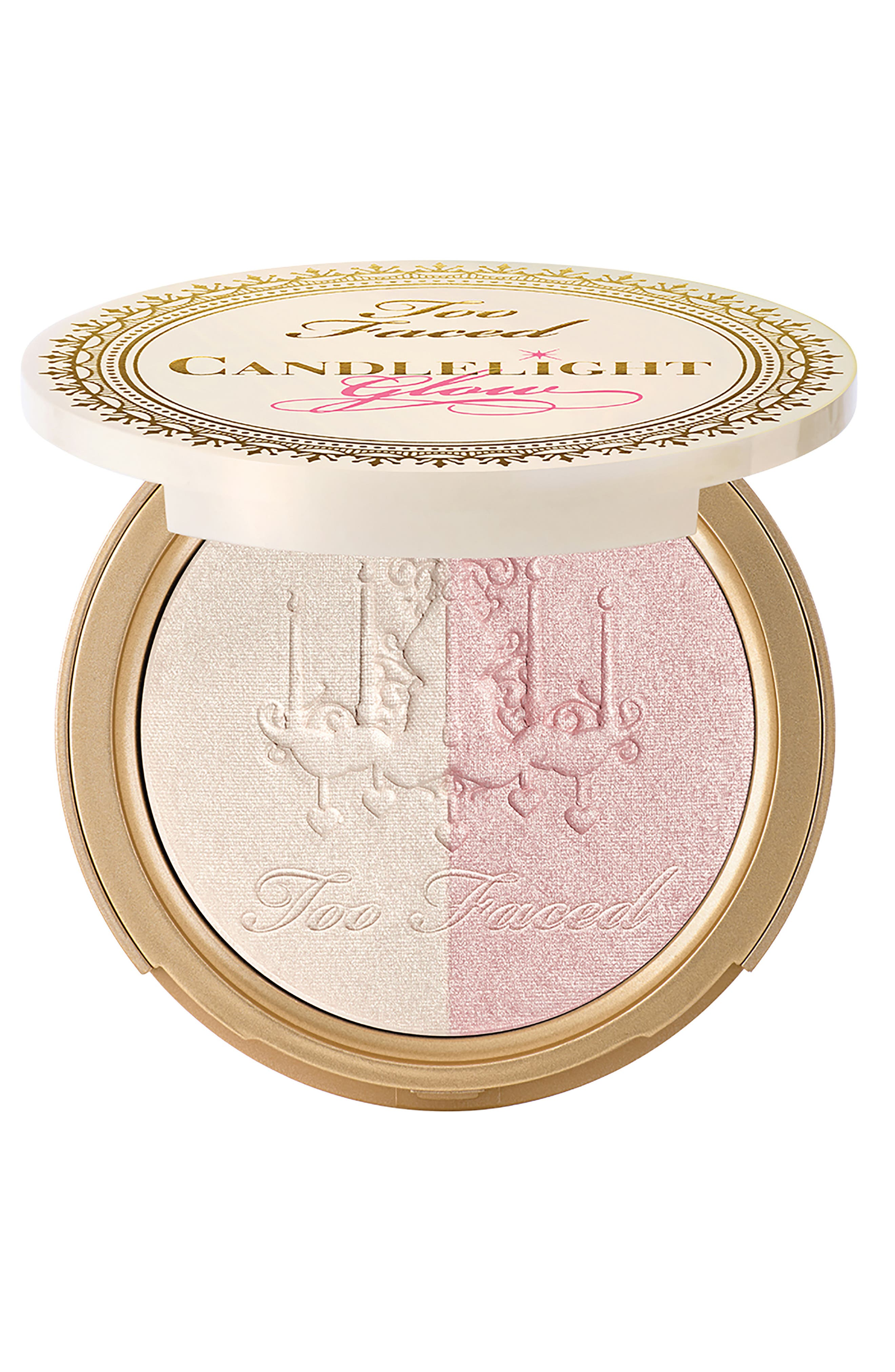 Candlelight Glow Powder,                             Main thumbnail 1, color,                             ROSY GLOW