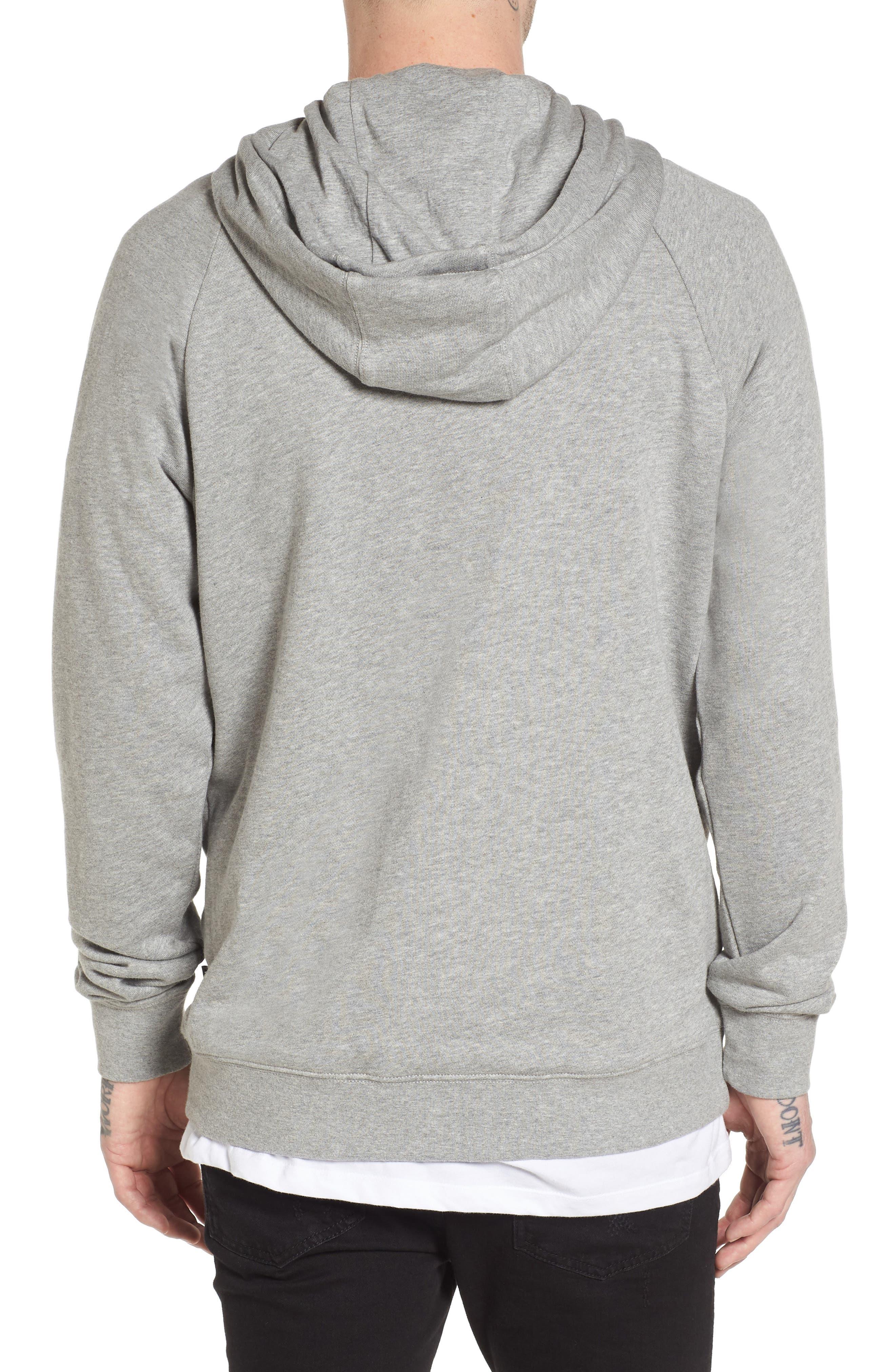 Stacked Rubber Hoodie Sweatshirt,                             Alternate thumbnail 2, color,