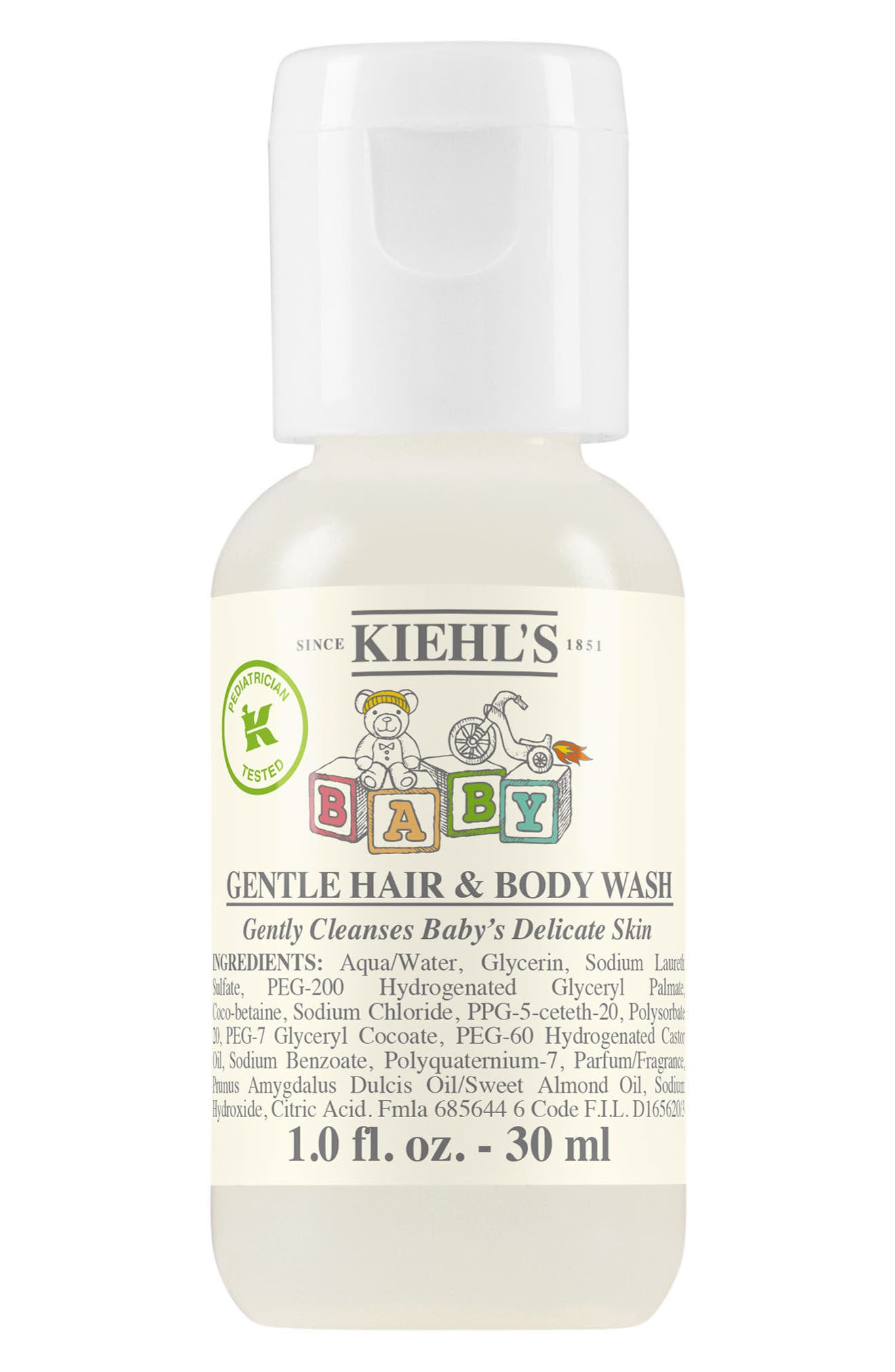 Baby Gentle Hair & Body Wash,                             Alternate thumbnail 3, color,                             NO COLOR