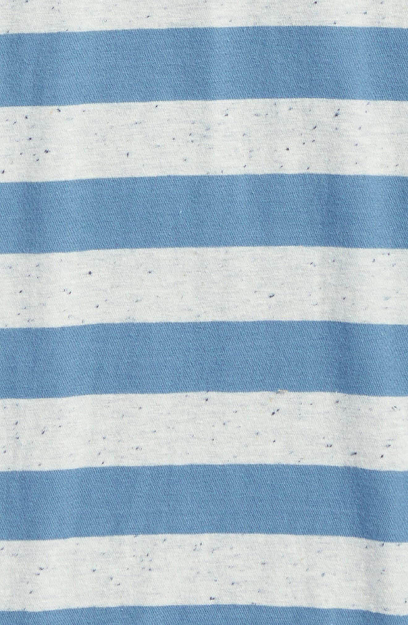 Scoundrel Striped Polo,                             Alternate thumbnail 8, color,