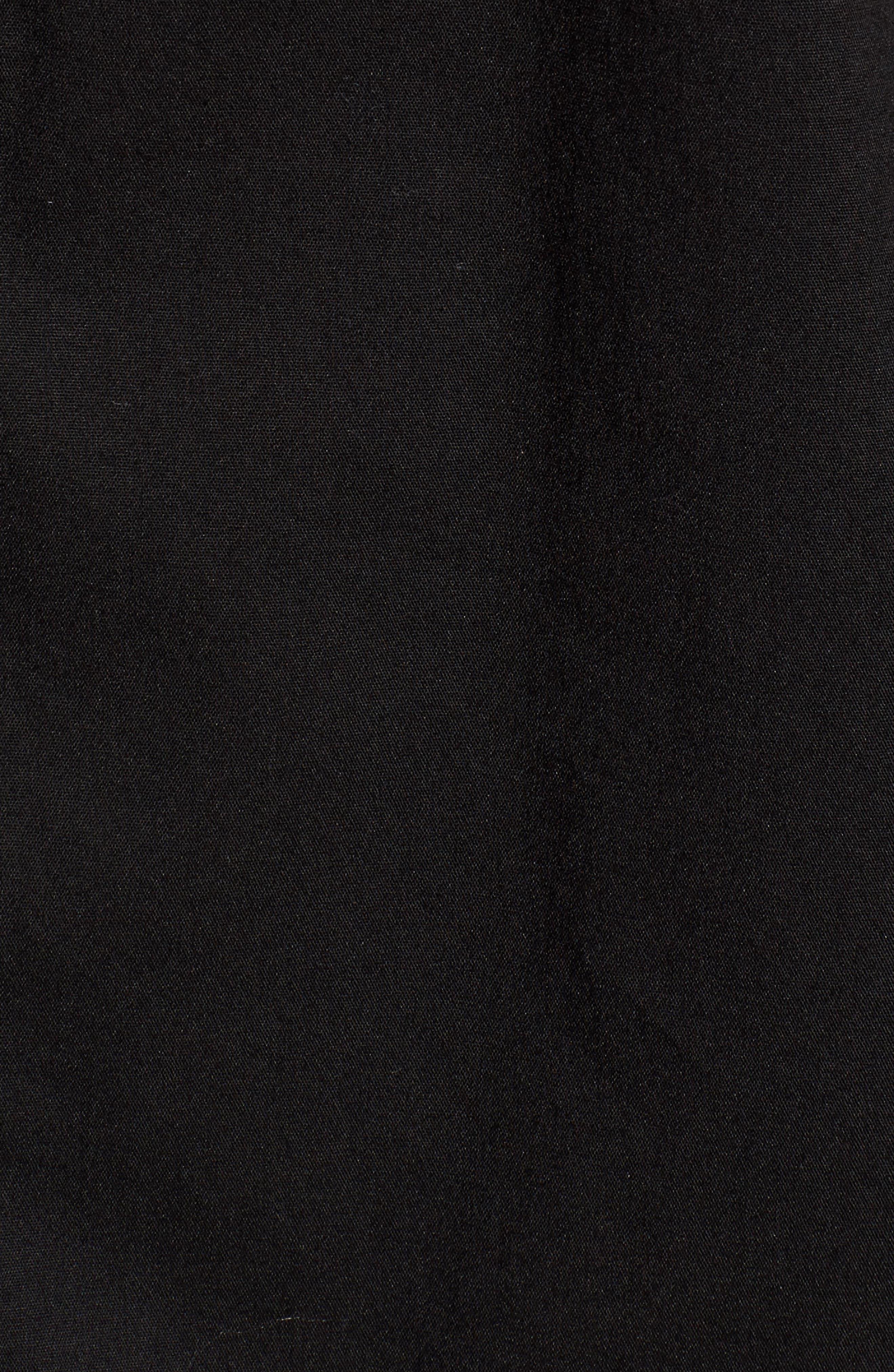 Ruffle Sleeve Tunic,                             Alternate thumbnail 5, color,                             001