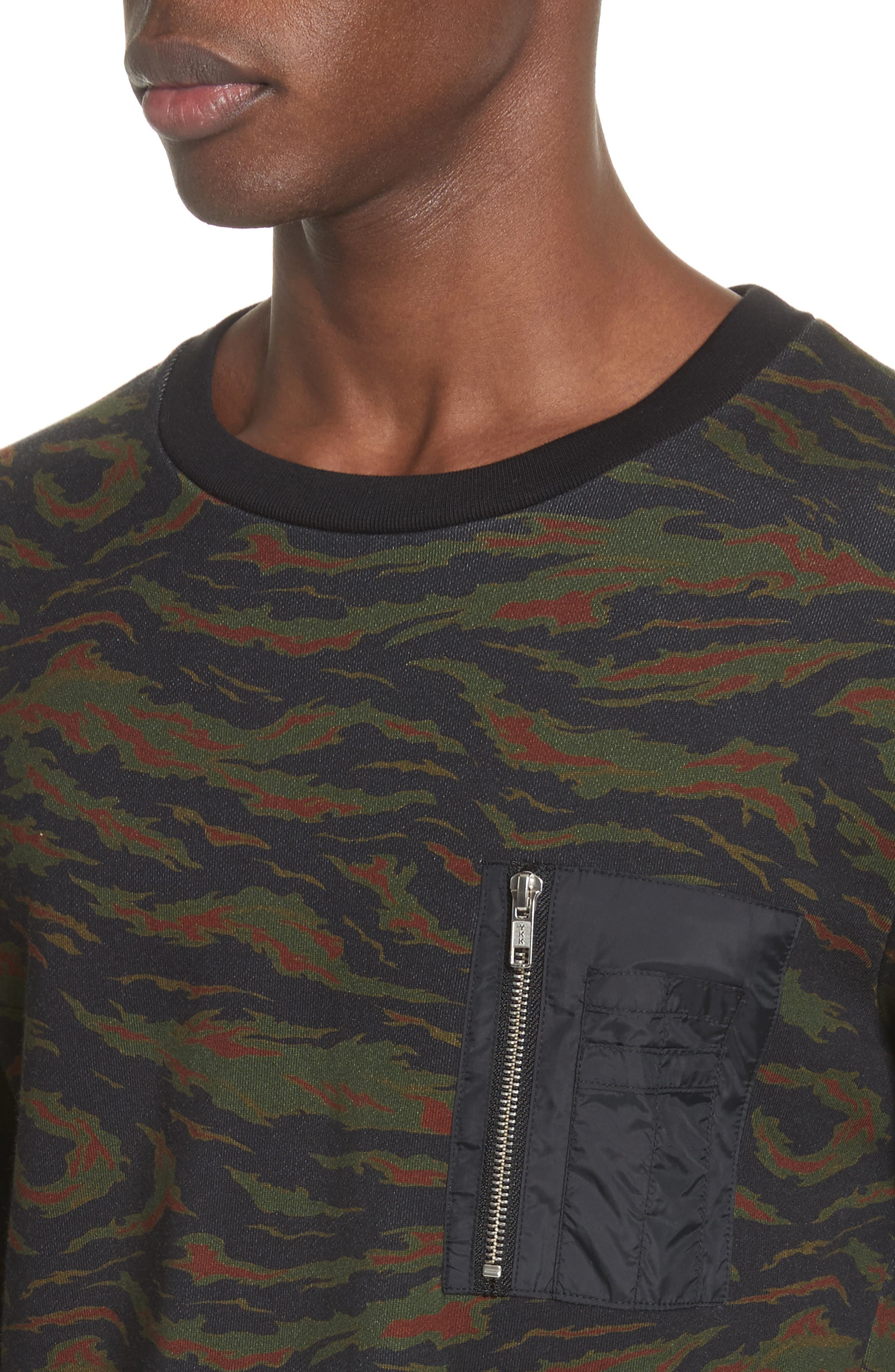 Camo Sweater,                             Alternate thumbnail 4, color,                             250