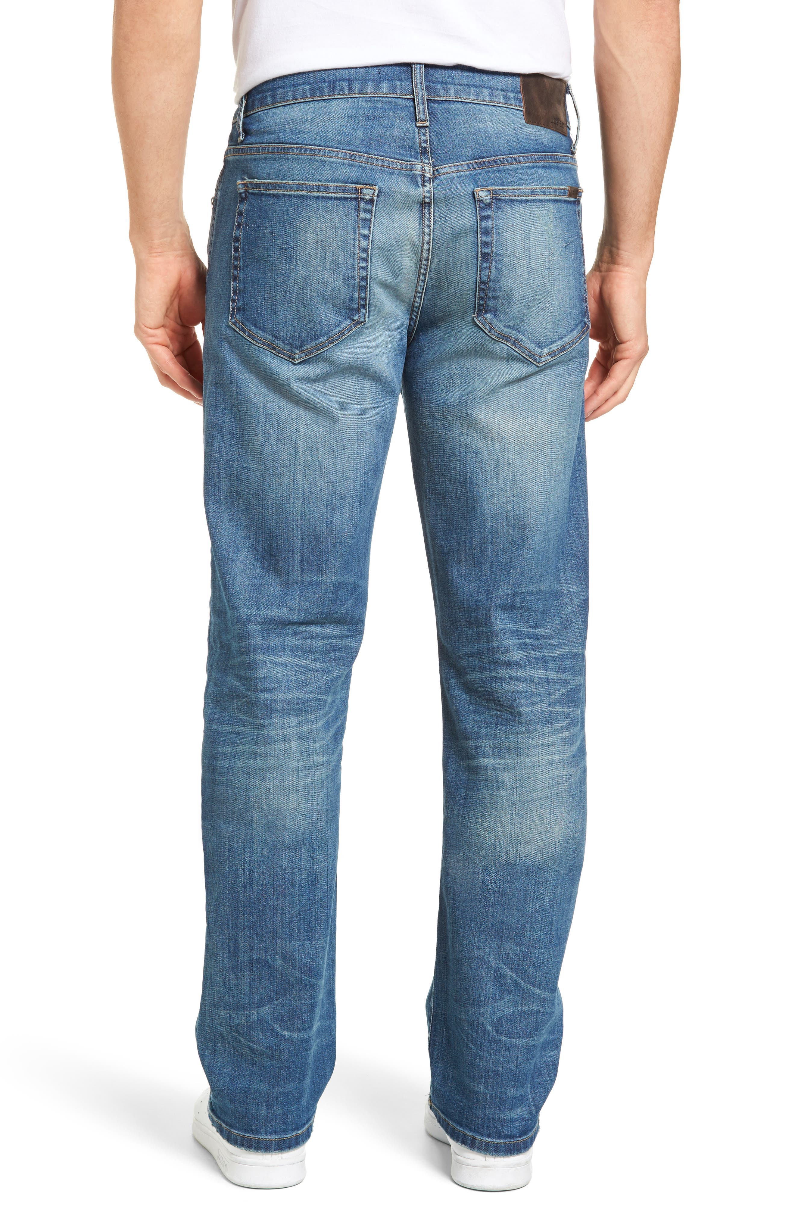 Classic Straight Fit Jeans,                             Alternate thumbnail 2, color,                             400