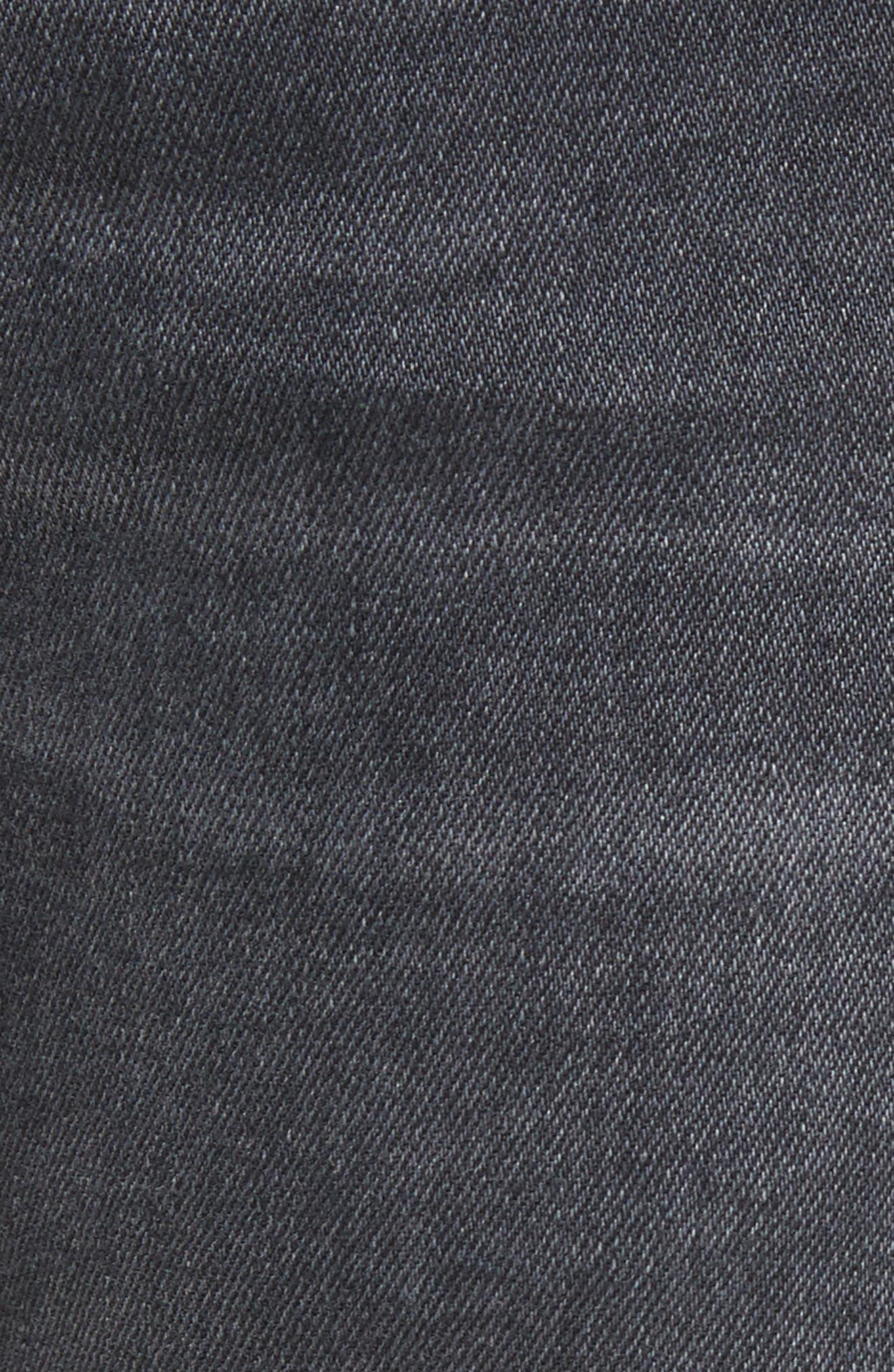 Tattenhall Washed Denim Skinny Jeans,                             Alternate thumbnail 5, color,                             022