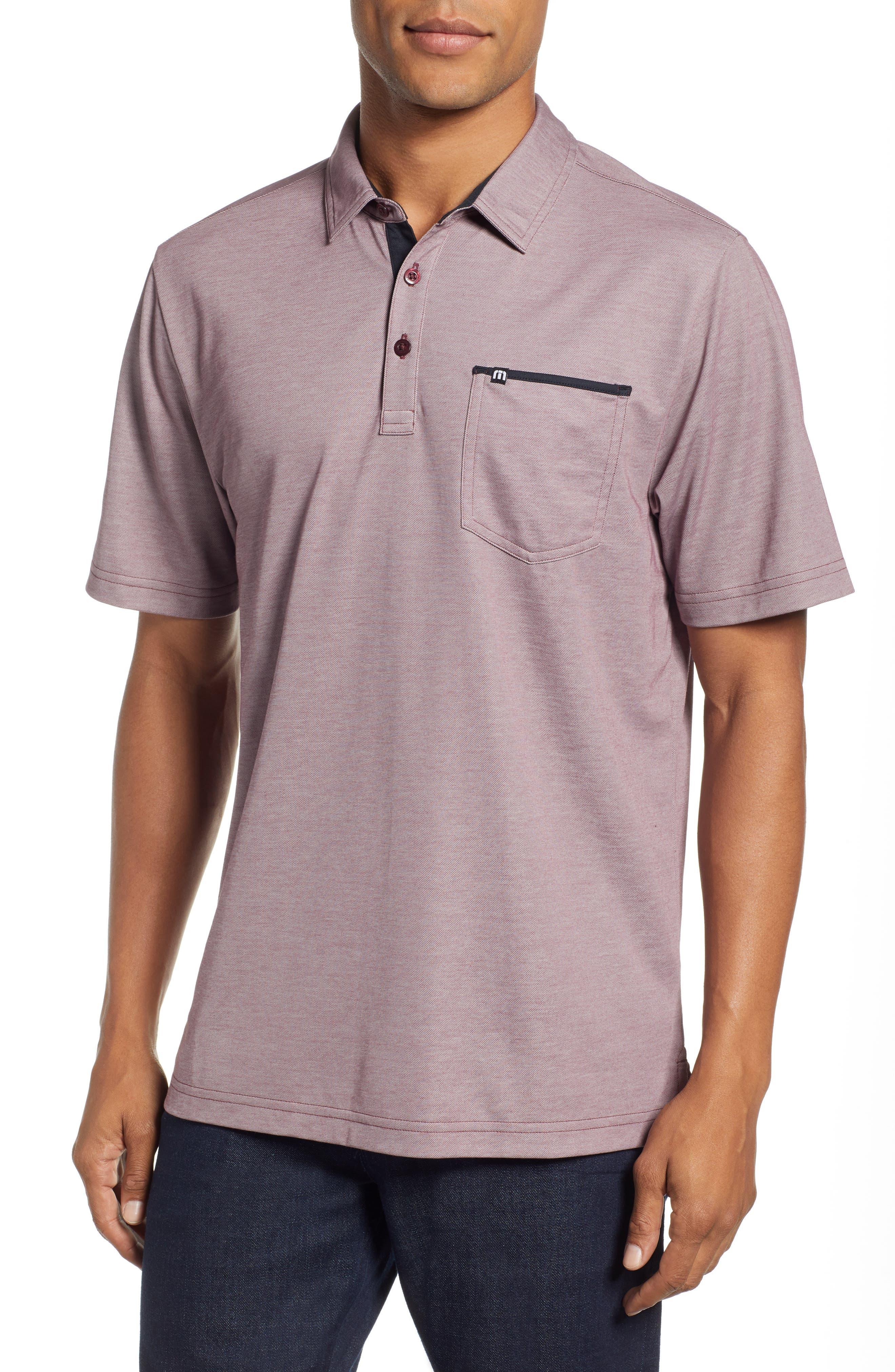 TRAVIS MATHEW Tonk Regular Fit Polo Shirt, Main, color, 600