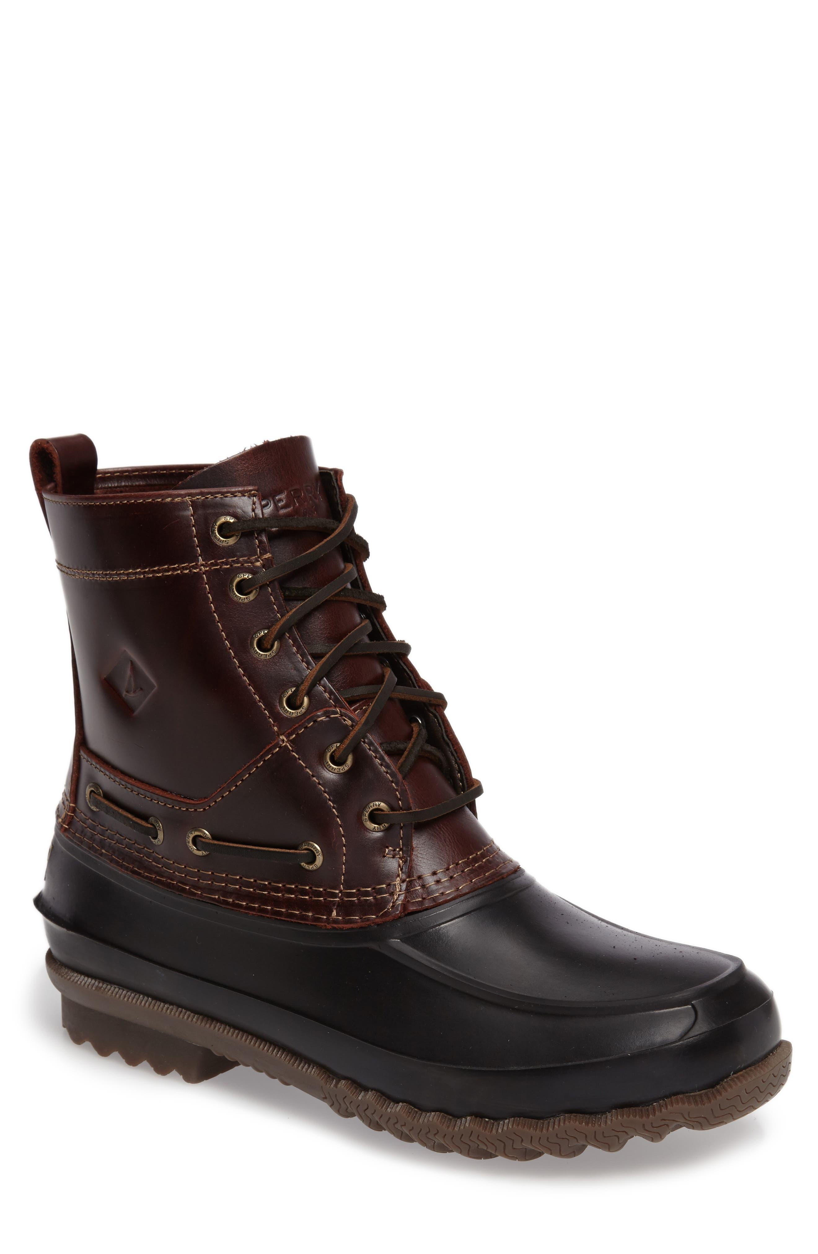 'Decoy' Waterproof Boot, Main, color, 002