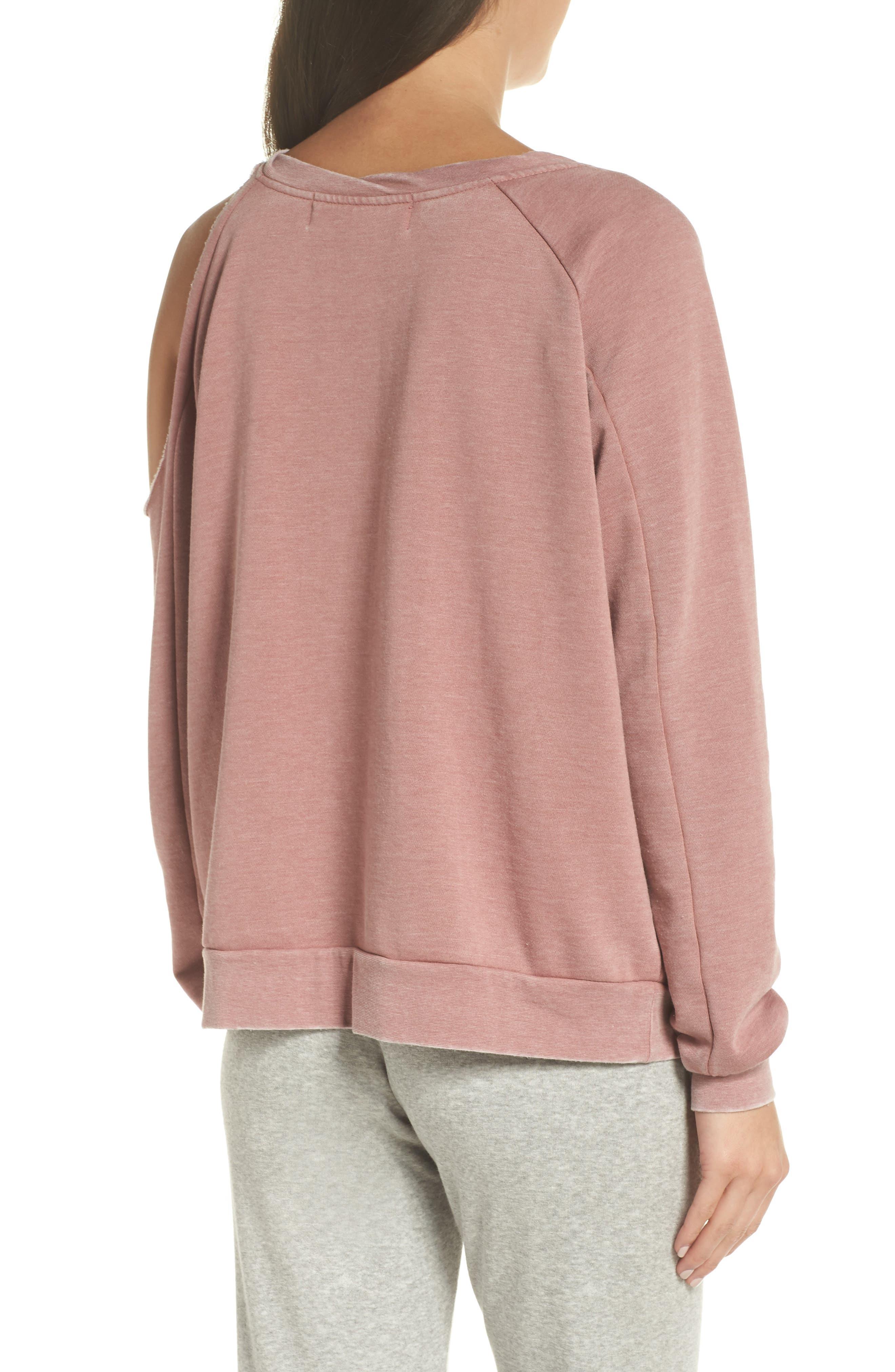 Colder Destroyed Sweatshirt,                             Alternate thumbnail 2, color,                             930