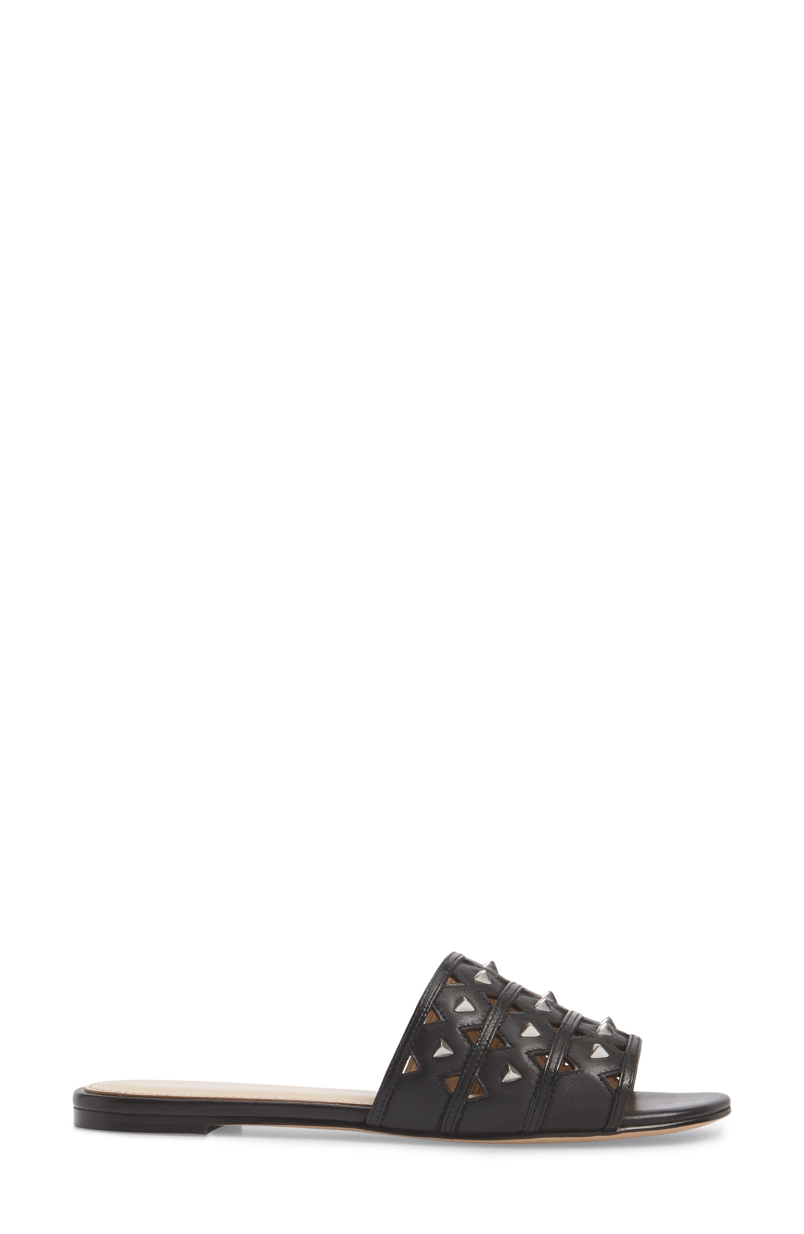 Maeva Slide Sandal,                             Alternate thumbnail 3, color,                             001
