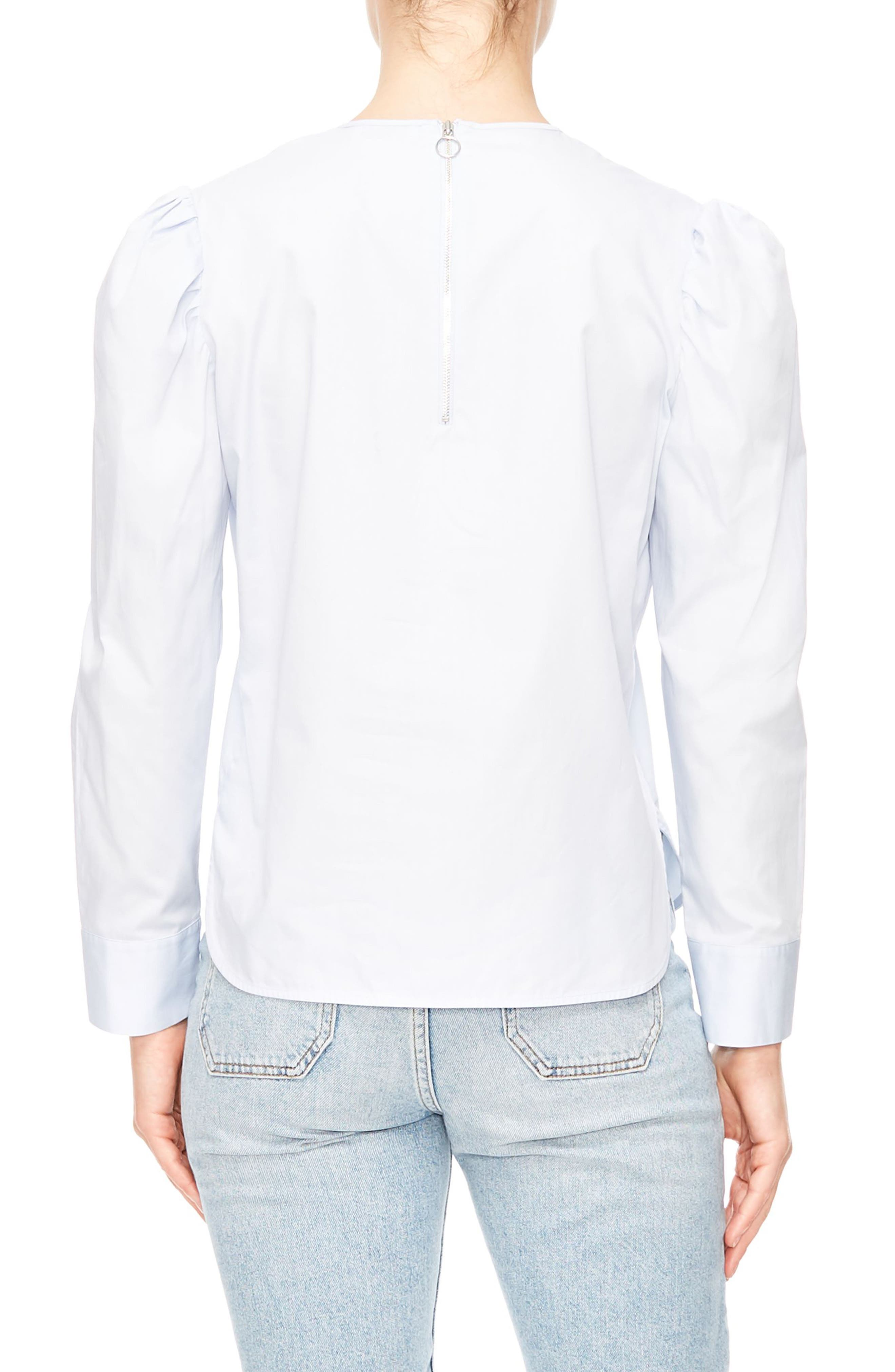 Embroidered Cutout Blouse,                             Alternate thumbnail 2, color,                             401