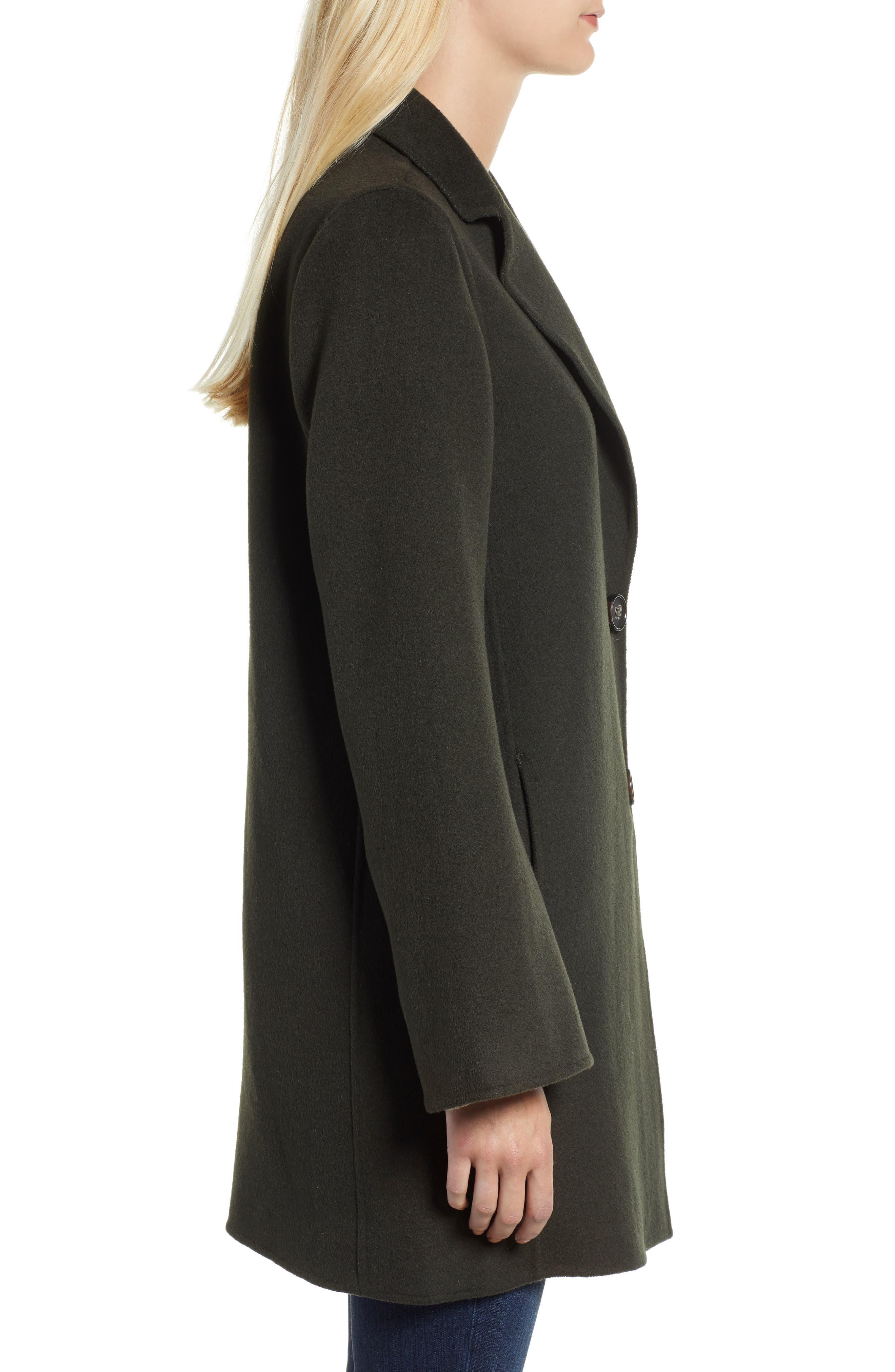 Jayden Bell Sleeve Jacket,                             Alternate thumbnail 3, color,                             CHIVE