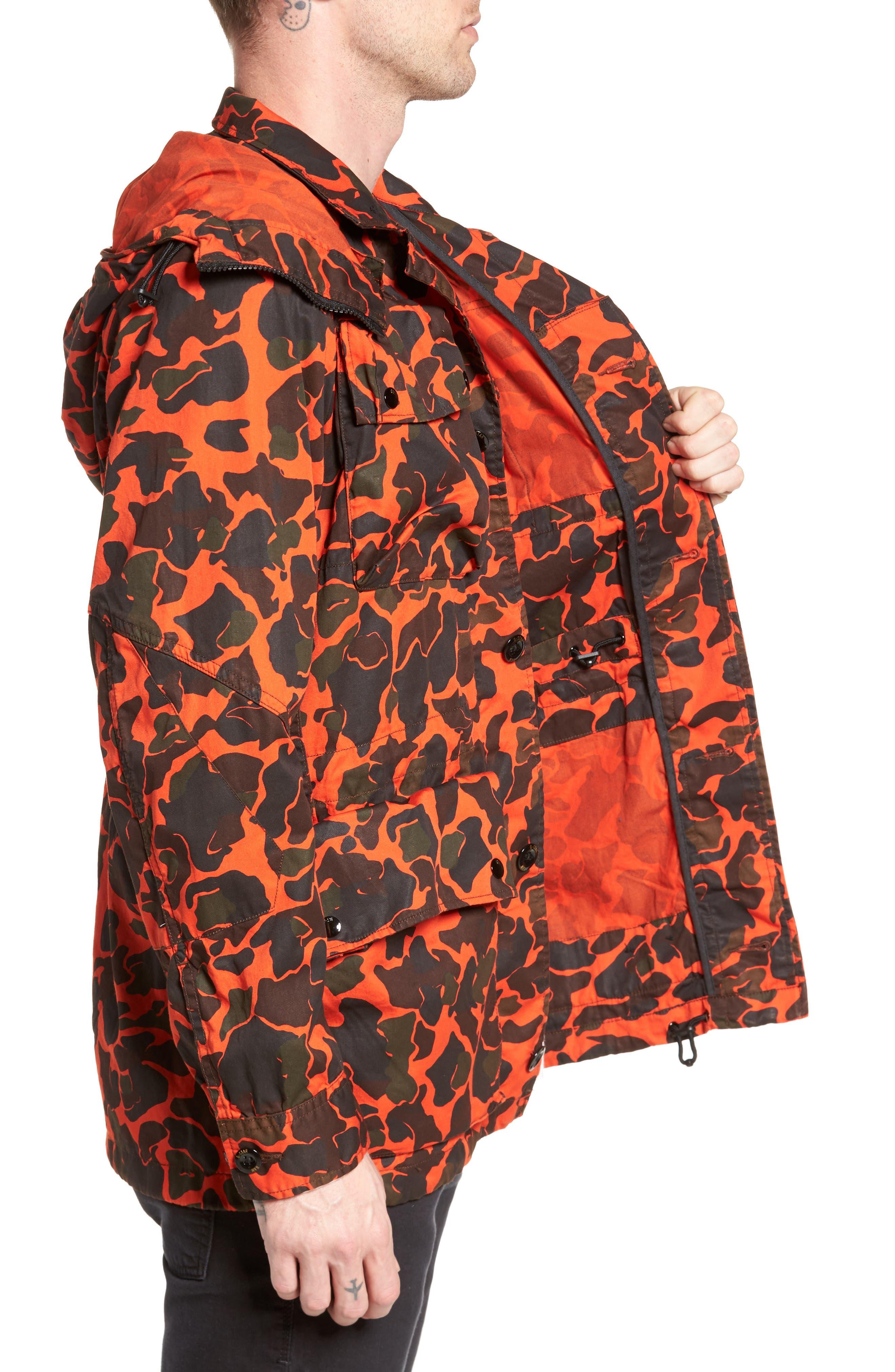 Ospak Submarine Hooded Jacket,                             Alternate thumbnail 3, color,                             800
