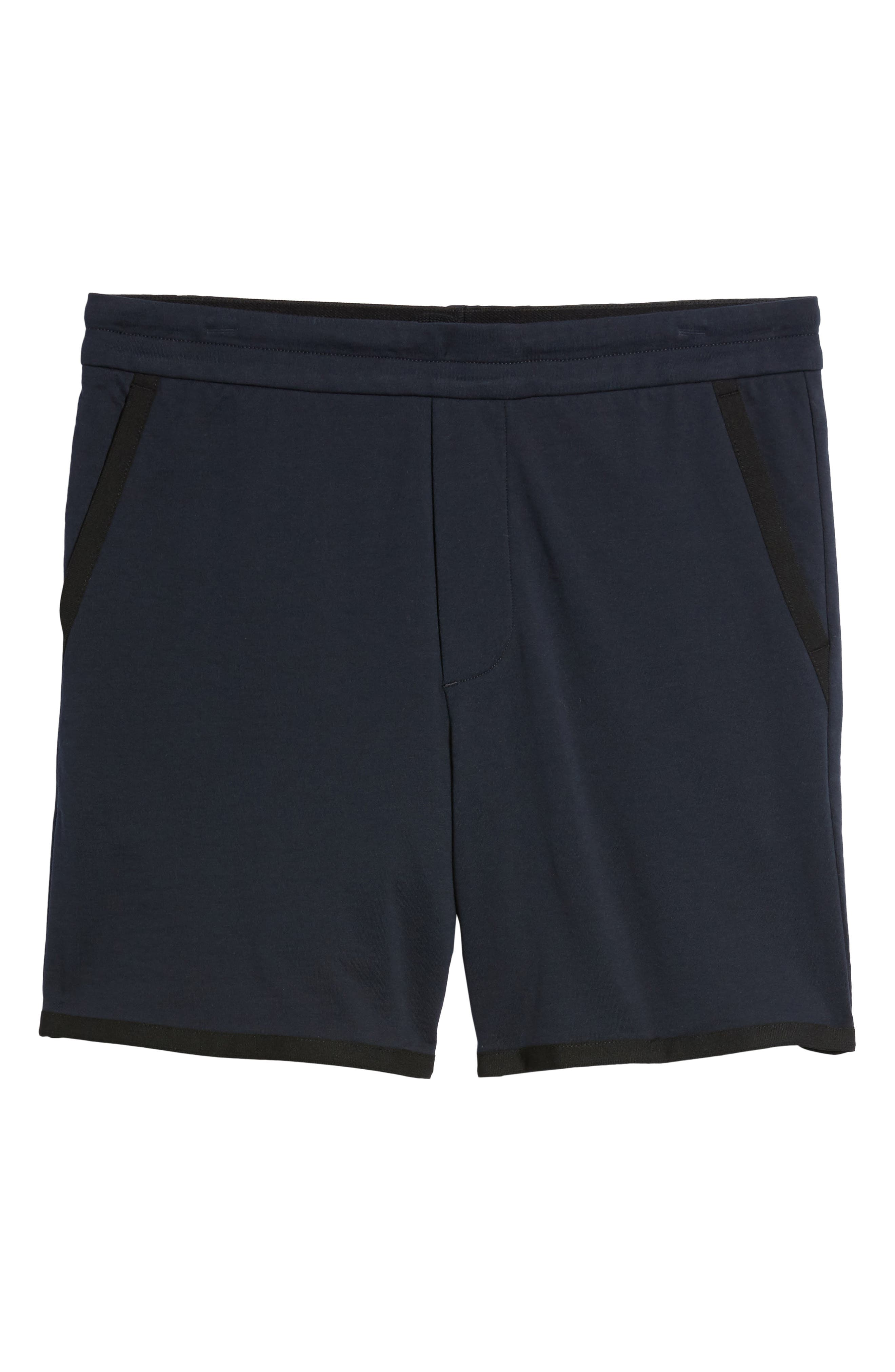 Taped Slim Fit Track Shorts,                             Alternate thumbnail 12, color,