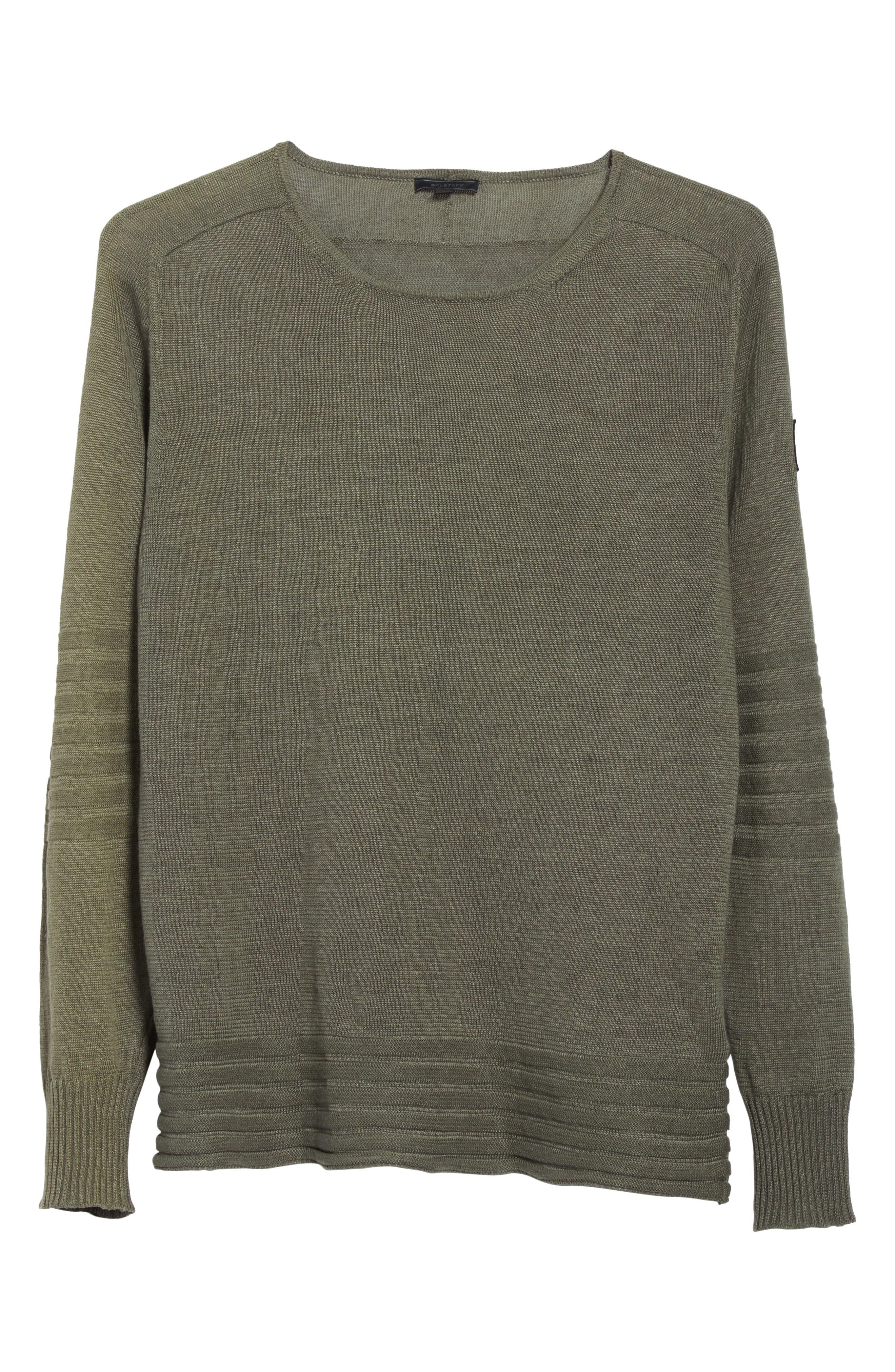 Exford Linen Crewneck Sweater,                             Alternate thumbnail 12, color,