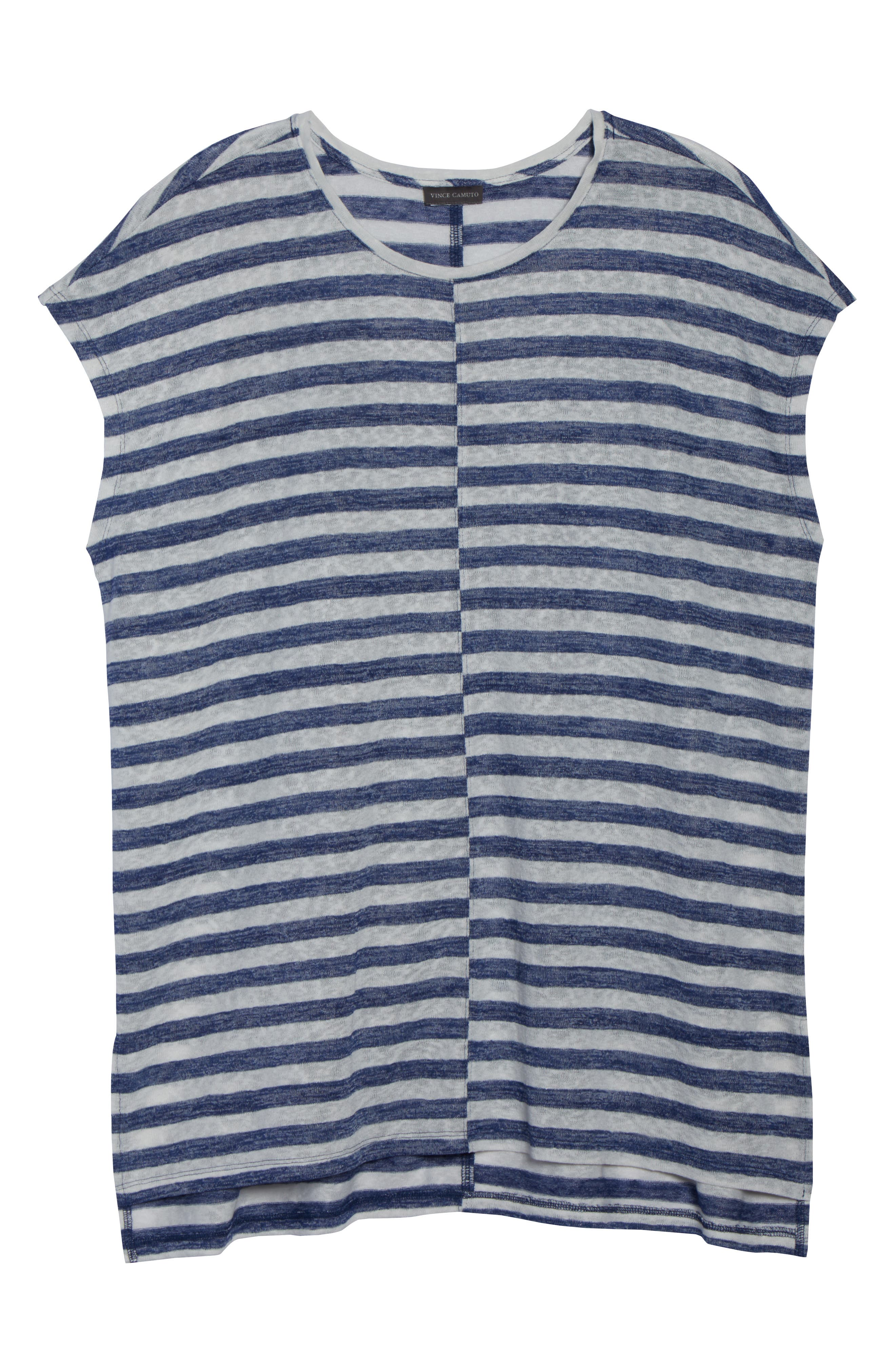VINCE CAMUTO,                             Offset Stripe Top,                             Alternate thumbnail 7, color,                             491