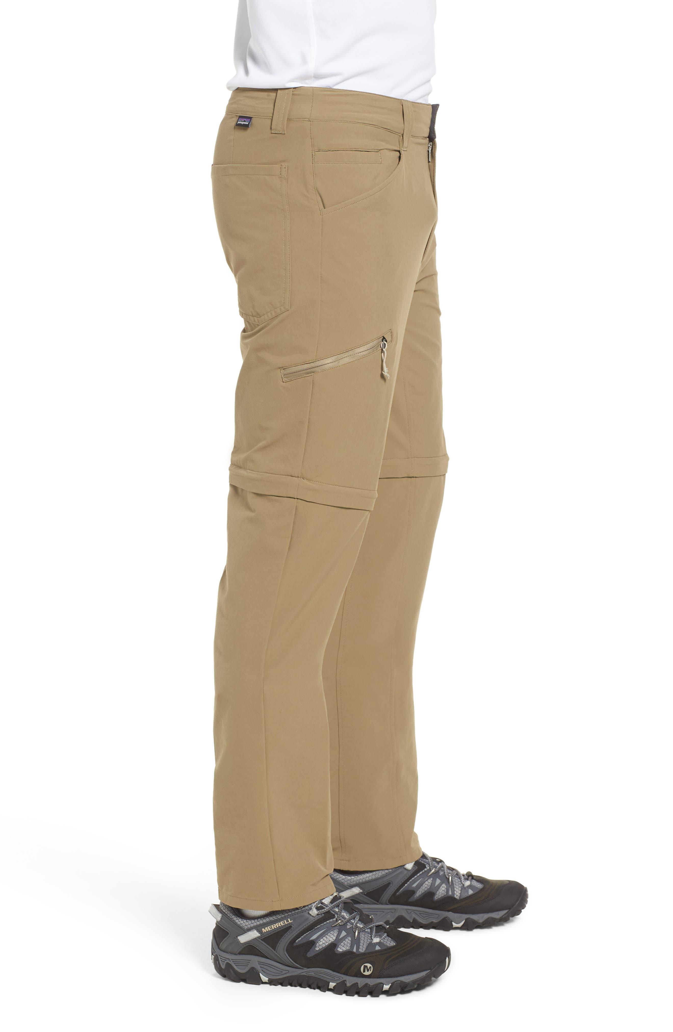 M's Quandry Convertible Pants,                             Alternate thumbnail 3, color,                             ASH TAN