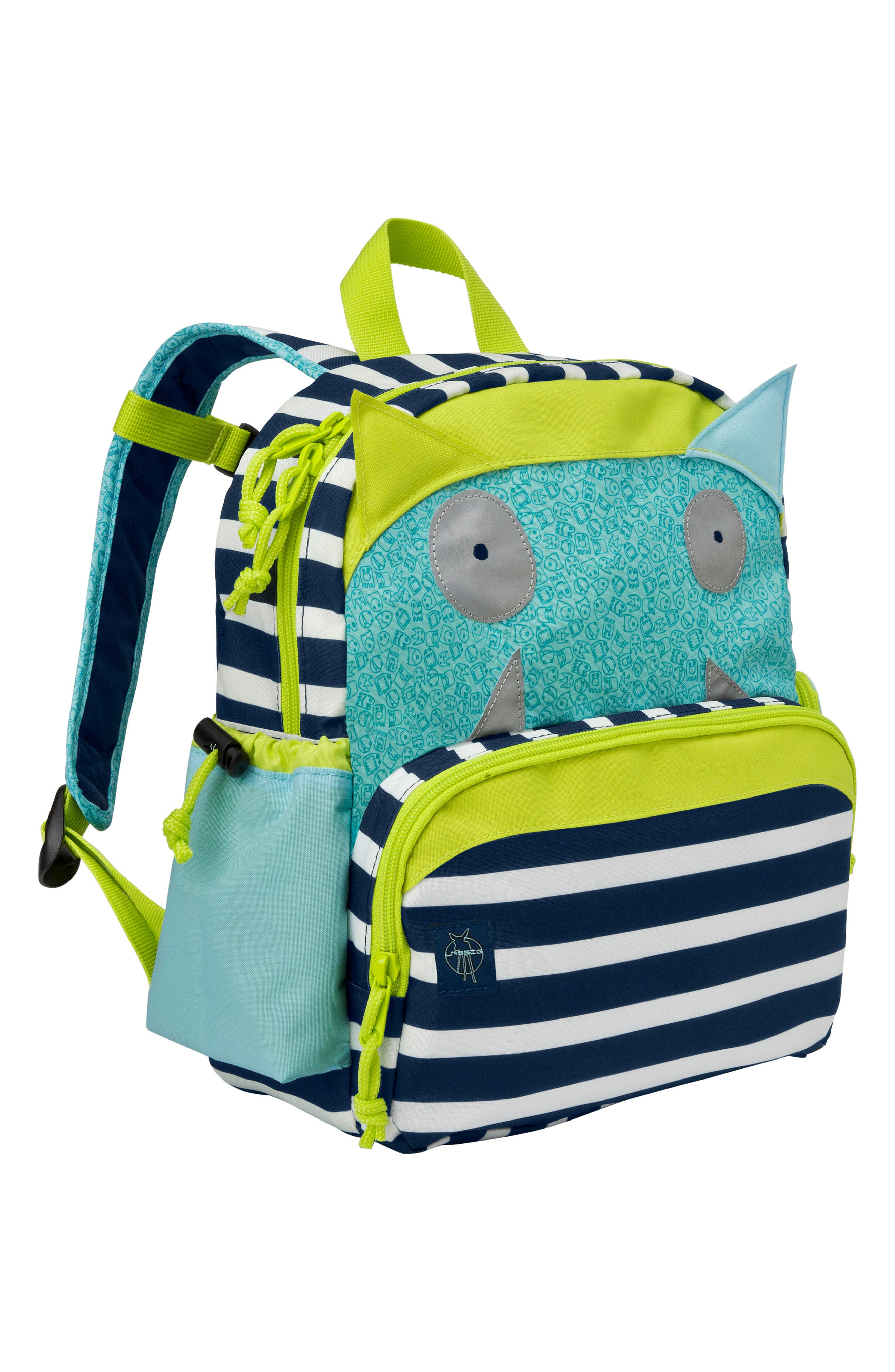 Little Monster Glow in the Dark Mini Backpack,                             Main thumbnail 1, color,                             BOUNCING BOB