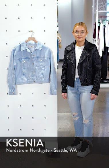 Matilda Denim Jacket, sales video thumbnail