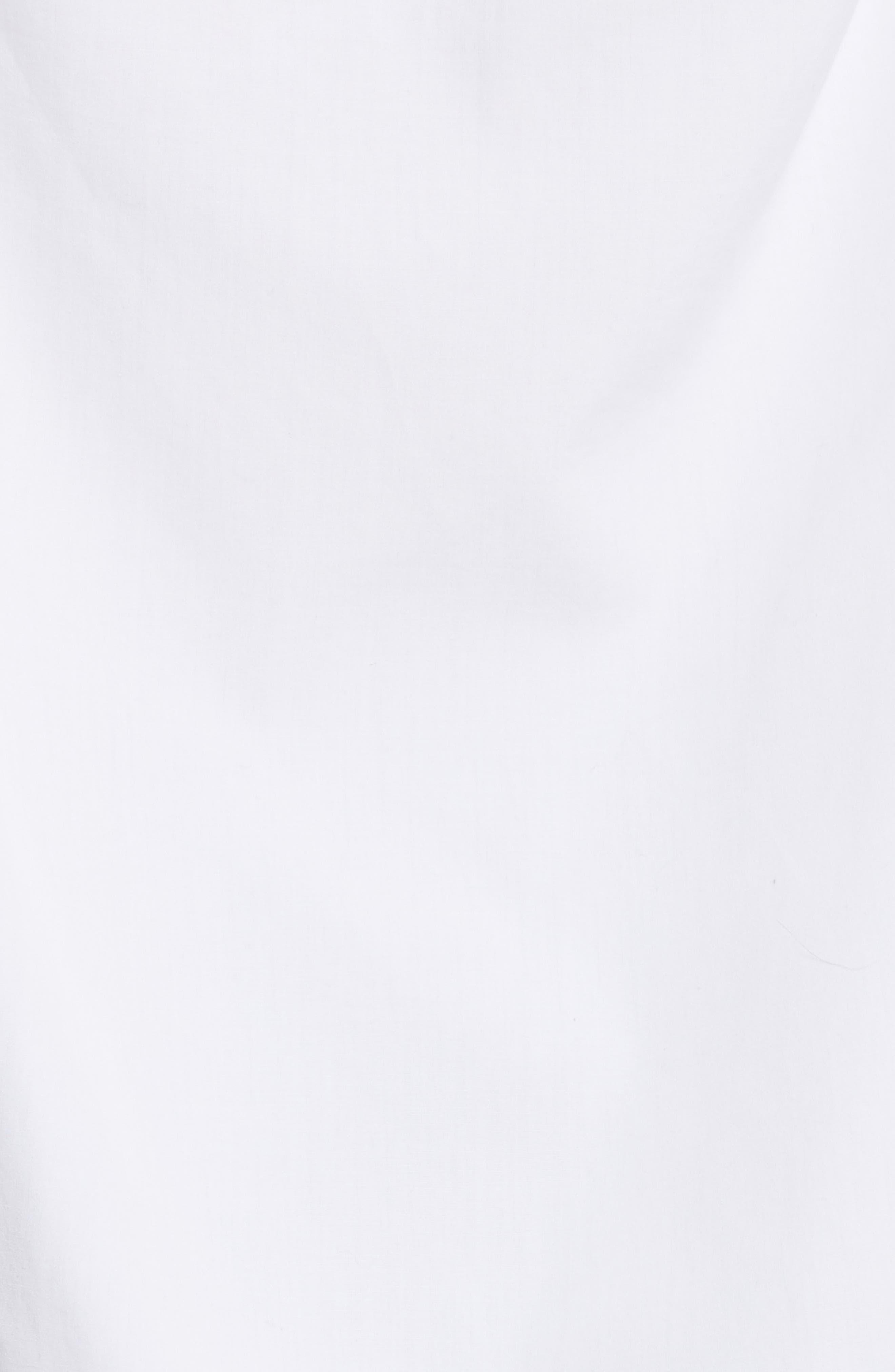 Cutout Cotton Poplin Shirt,                             Alternate thumbnail 5, color,                             139