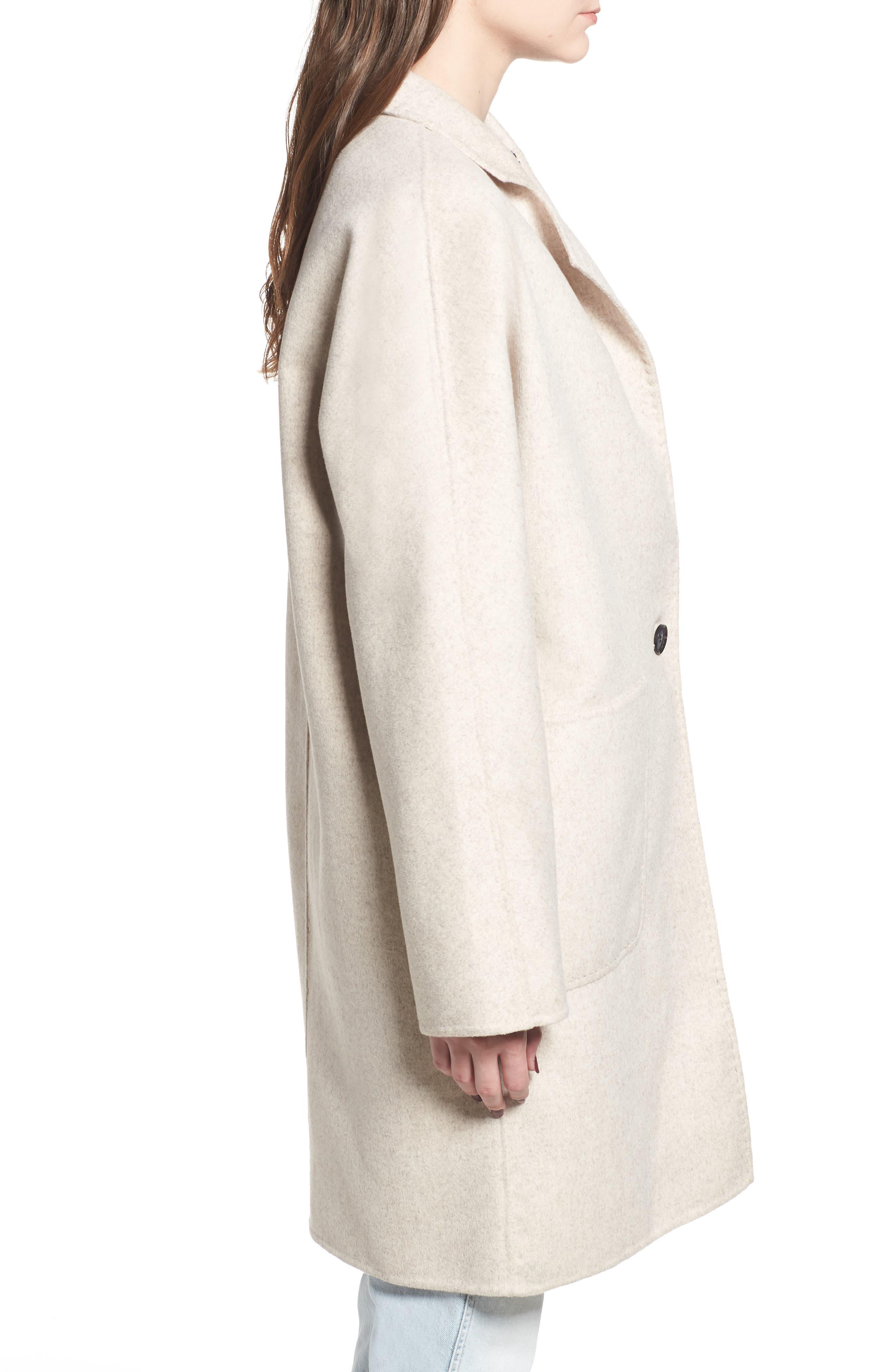 Everest Wool Blend Coat,                             Alternate thumbnail 4, color,                             905