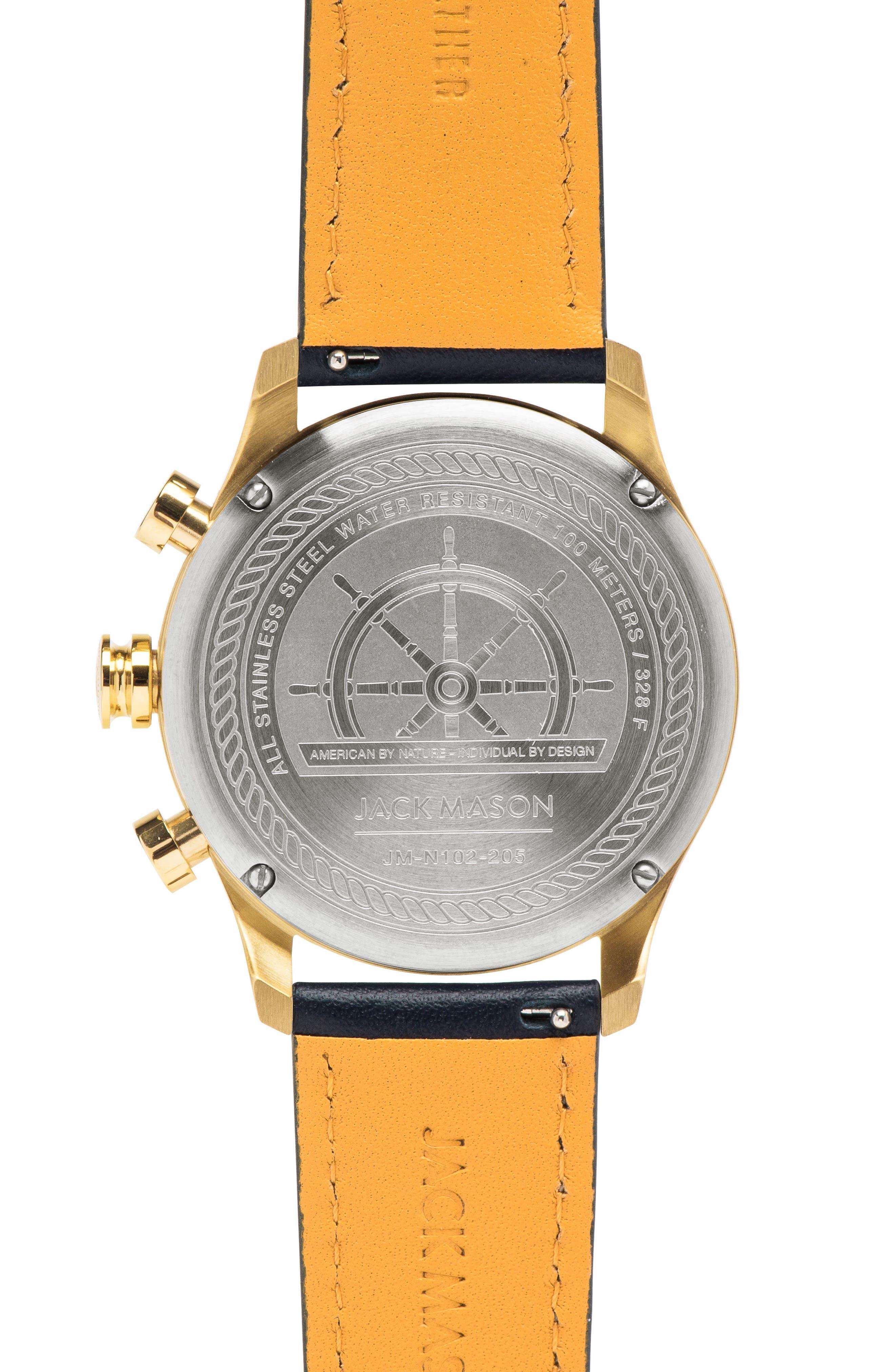 Nautical Chronograph Watch, 42mm,                             Alternate thumbnail 2, color,                             400