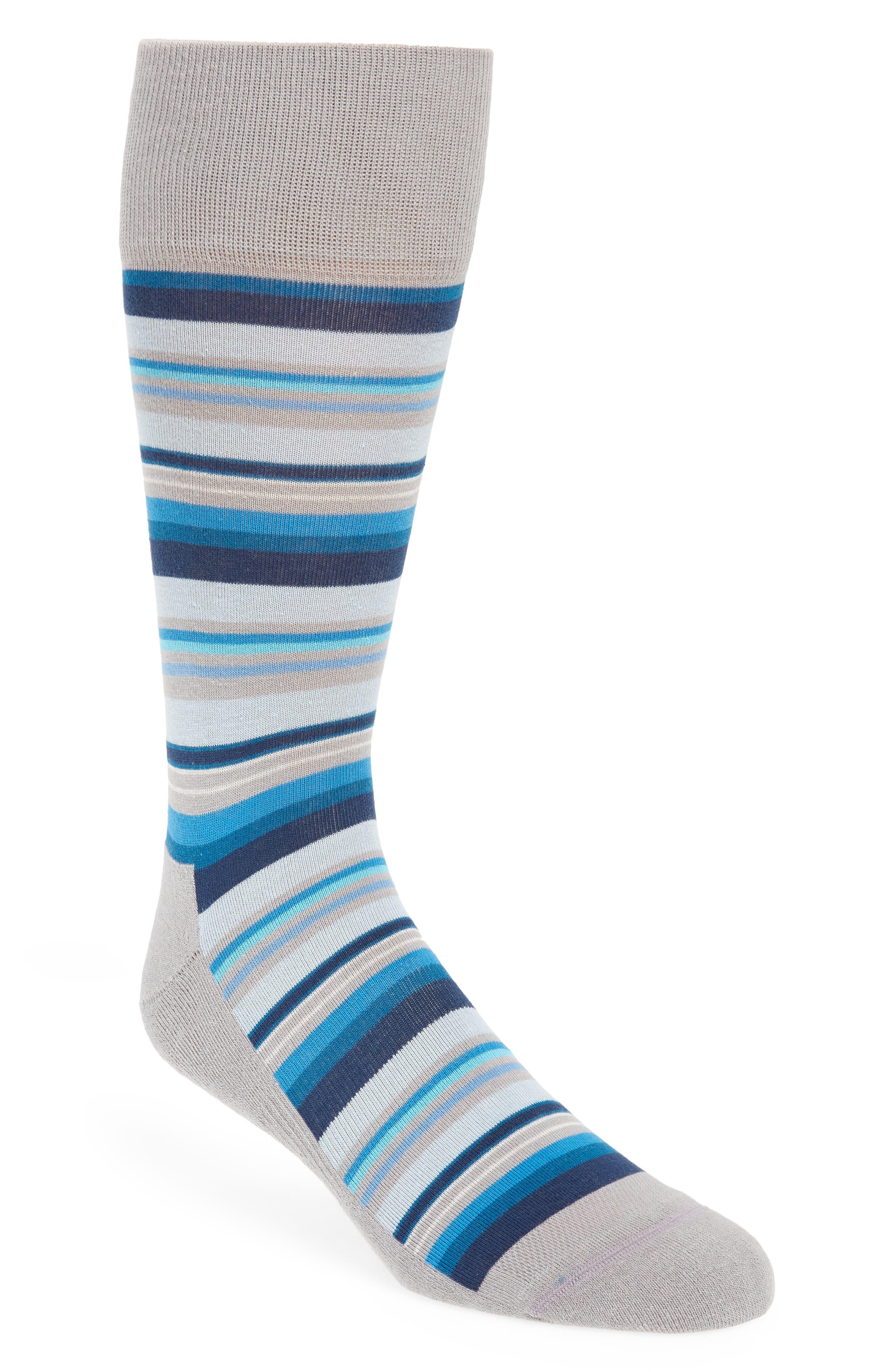 Variegated Stripe Socks,                         Main,                         color, 030