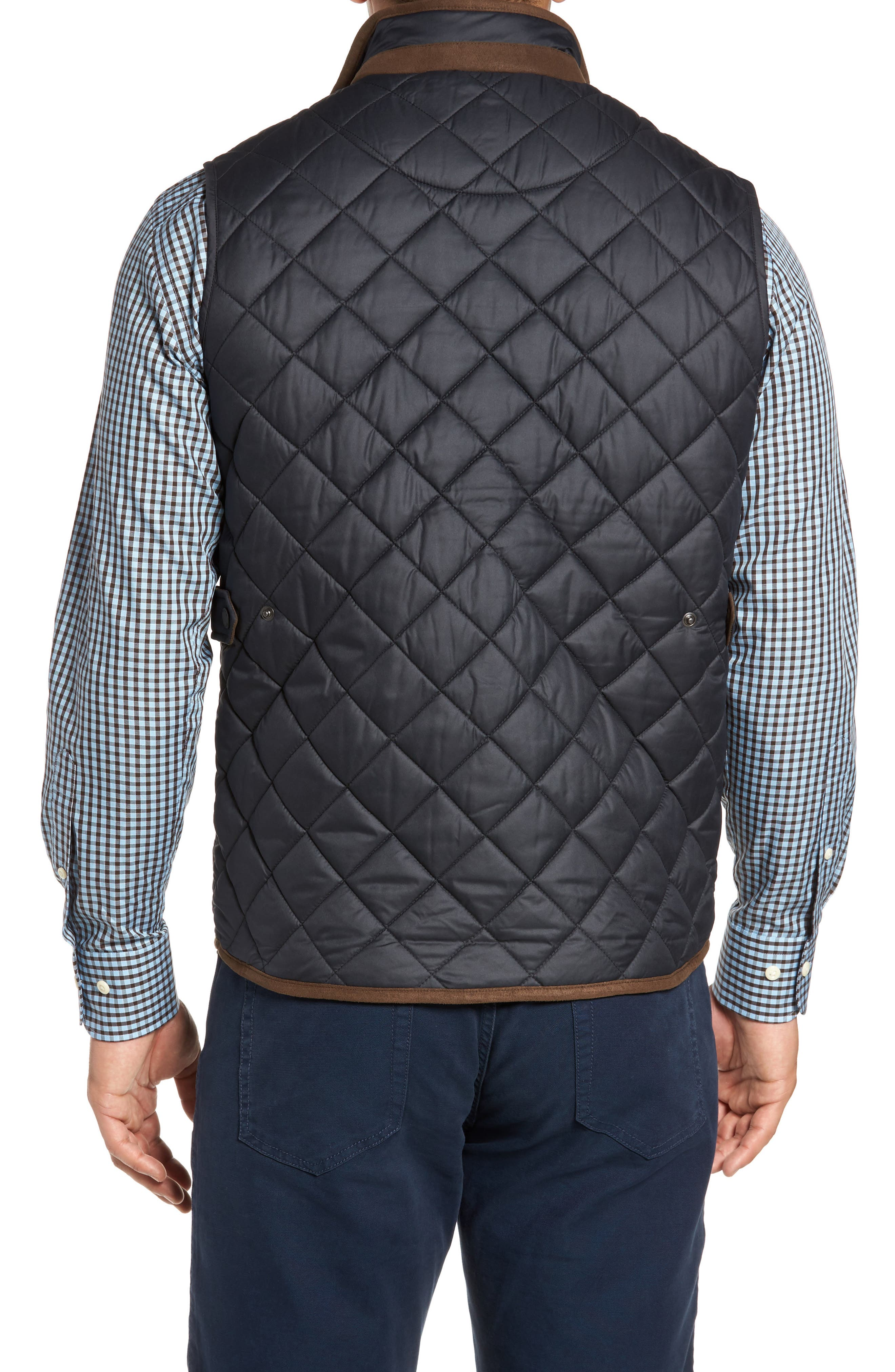 Essex Quilted Vest,                             Alternate thumbnail 2, color,                             001