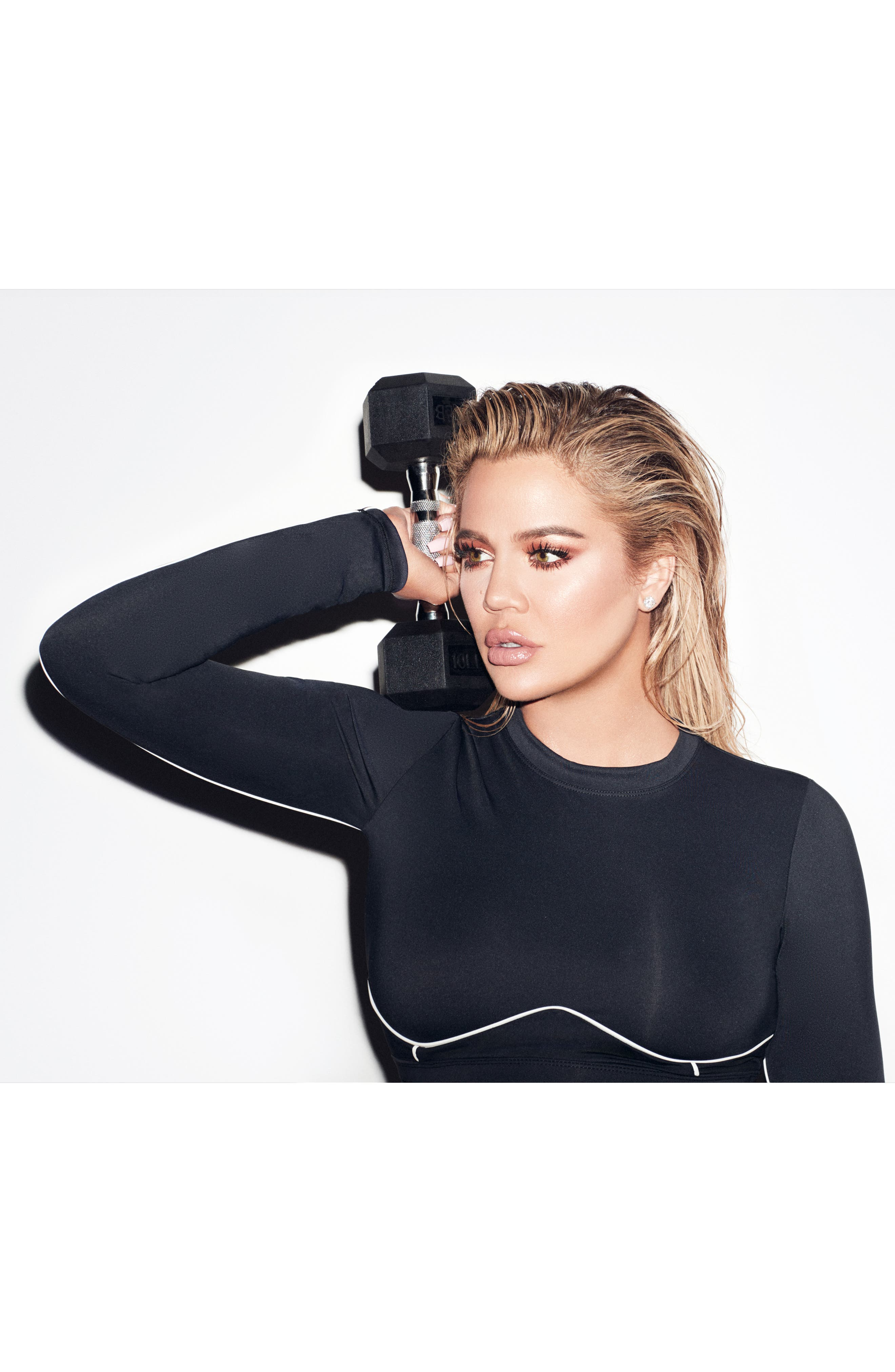 Piped Crop Top,                             Alternate thumbnail 11, color,                             BLACK001