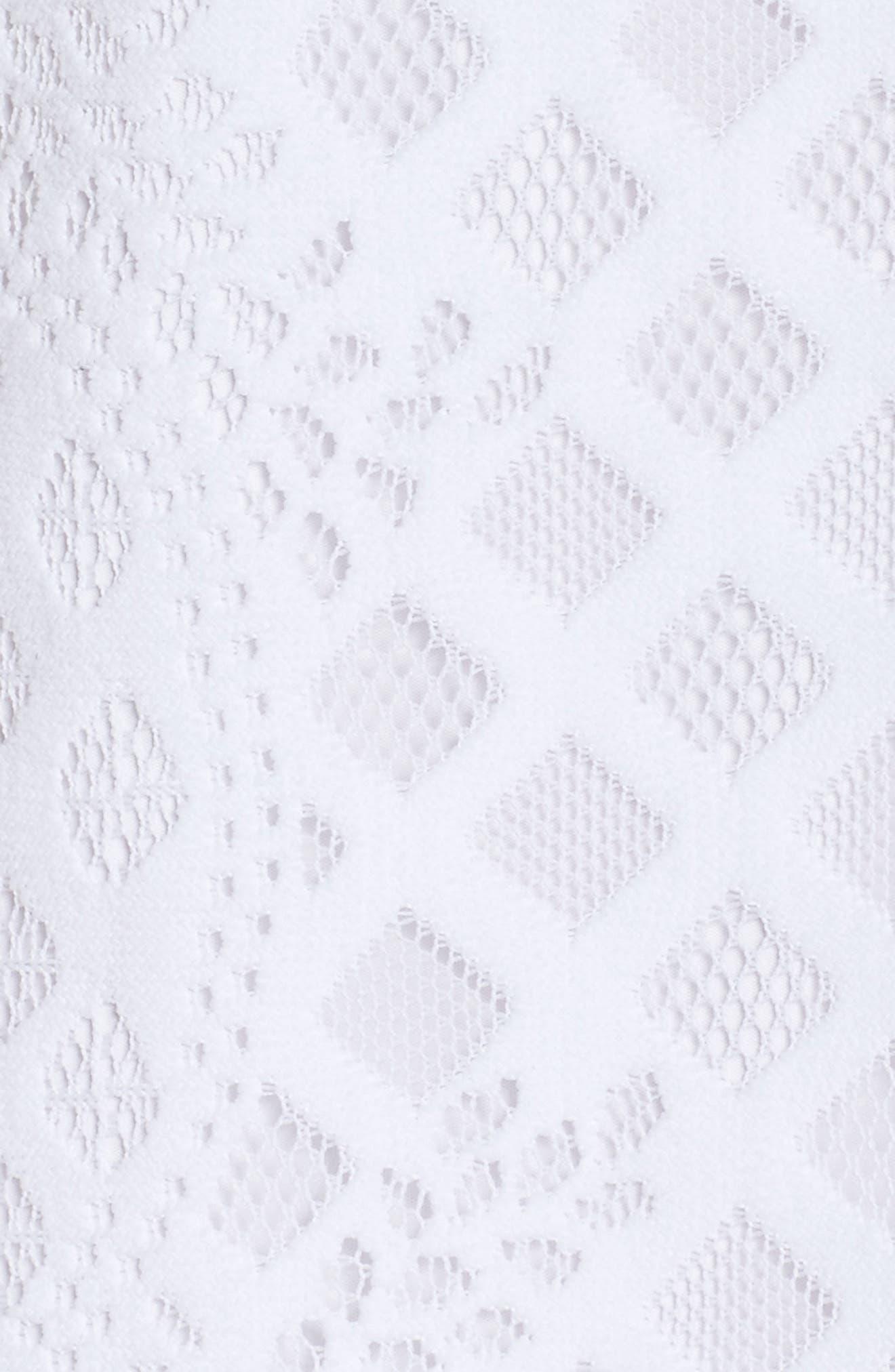Marquette Lace Shift Dress,                             Alternate thumbnail 5, color,                             115