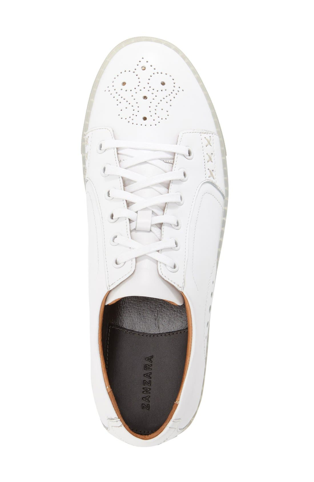 'Drum' Lace-Up Sneaker,                             Alternate thumbnail 9, color,