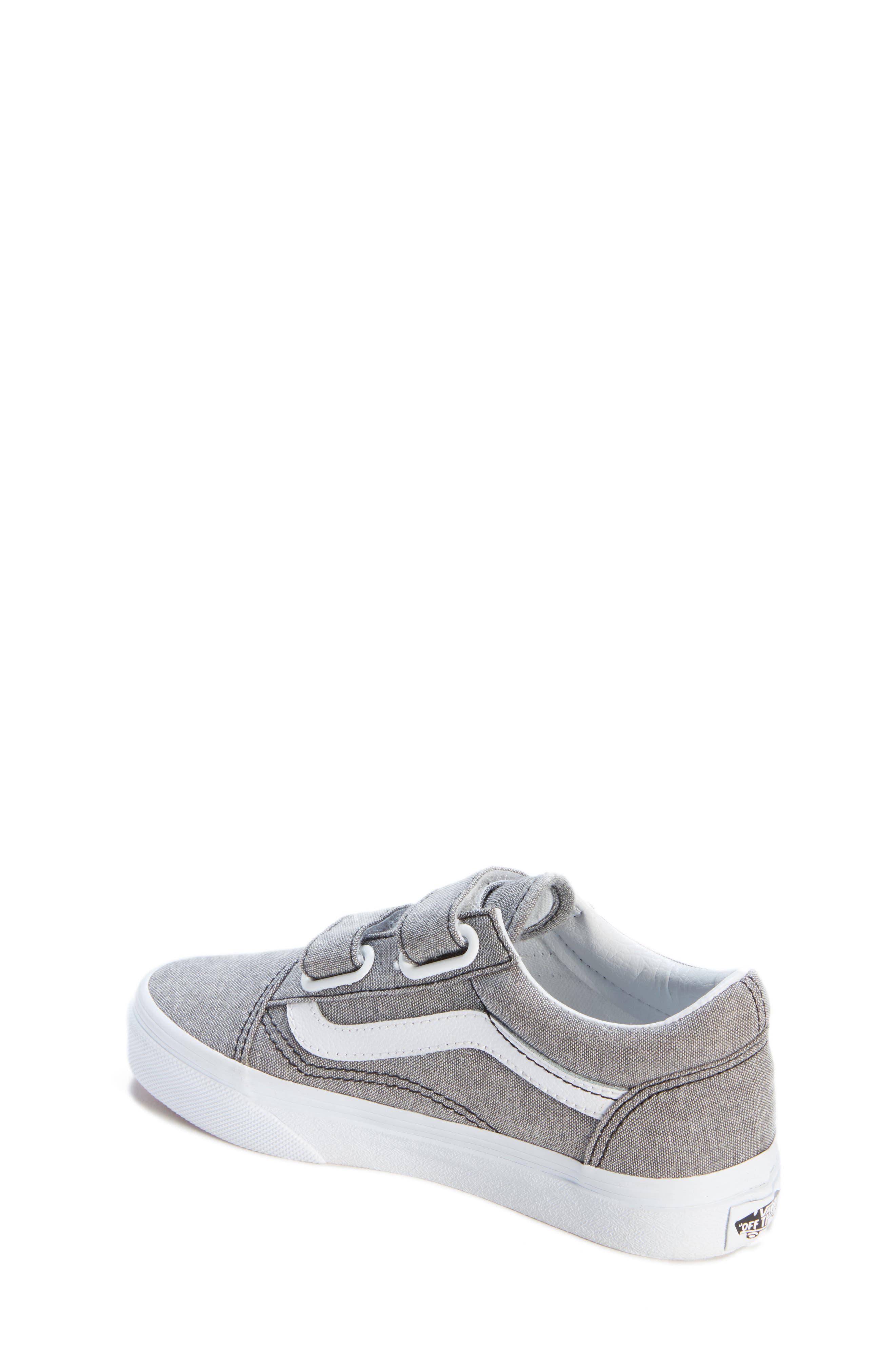 'Old Skool' Sneaker,                             Alternate thumbnail 2, color,                             OXFORD GRAY TRUE WHITE