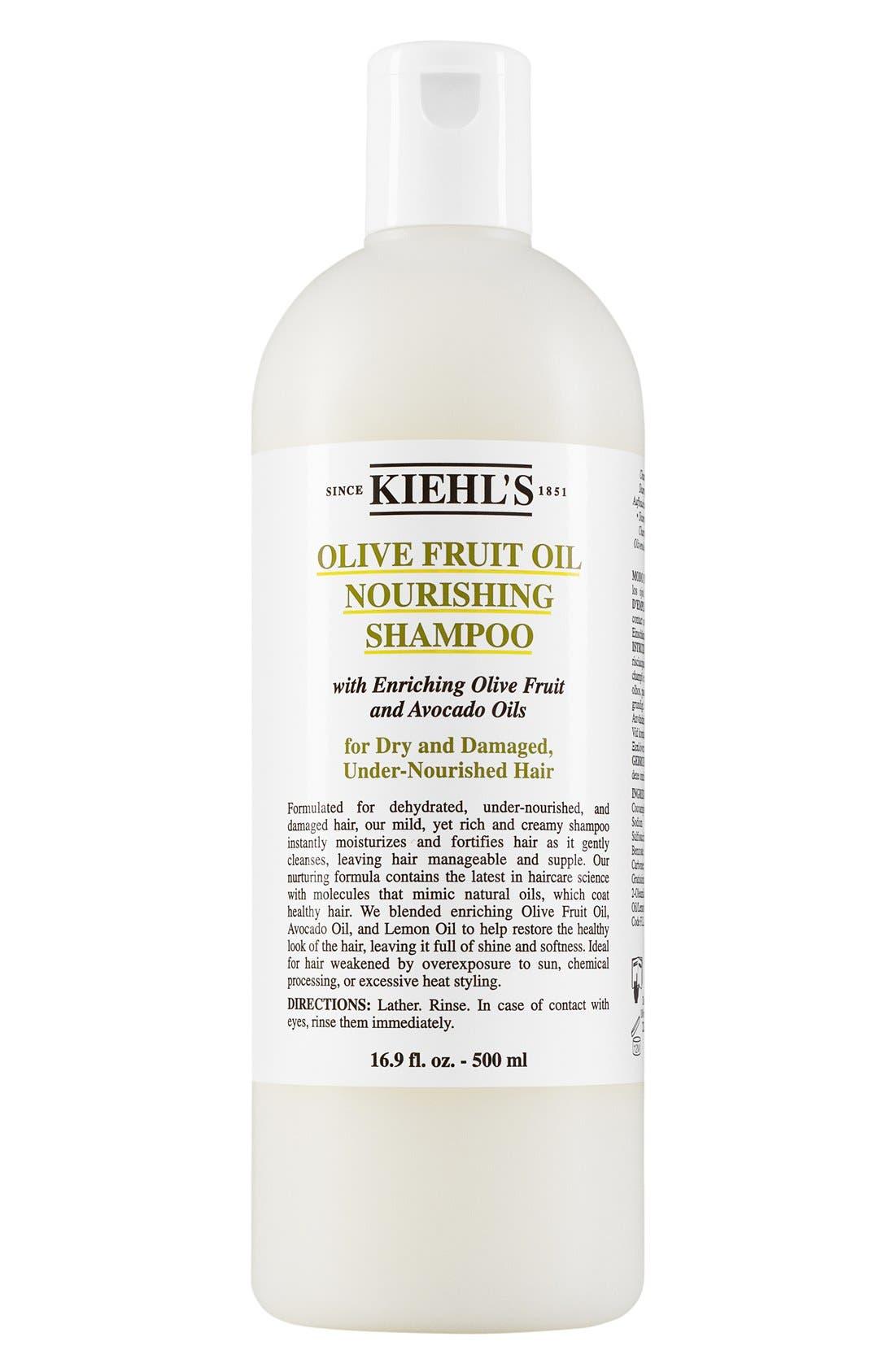Olive Fruit Oil Nourishing Shampoo,                             Alternate thumbnail 3, color,                             NO COLOR