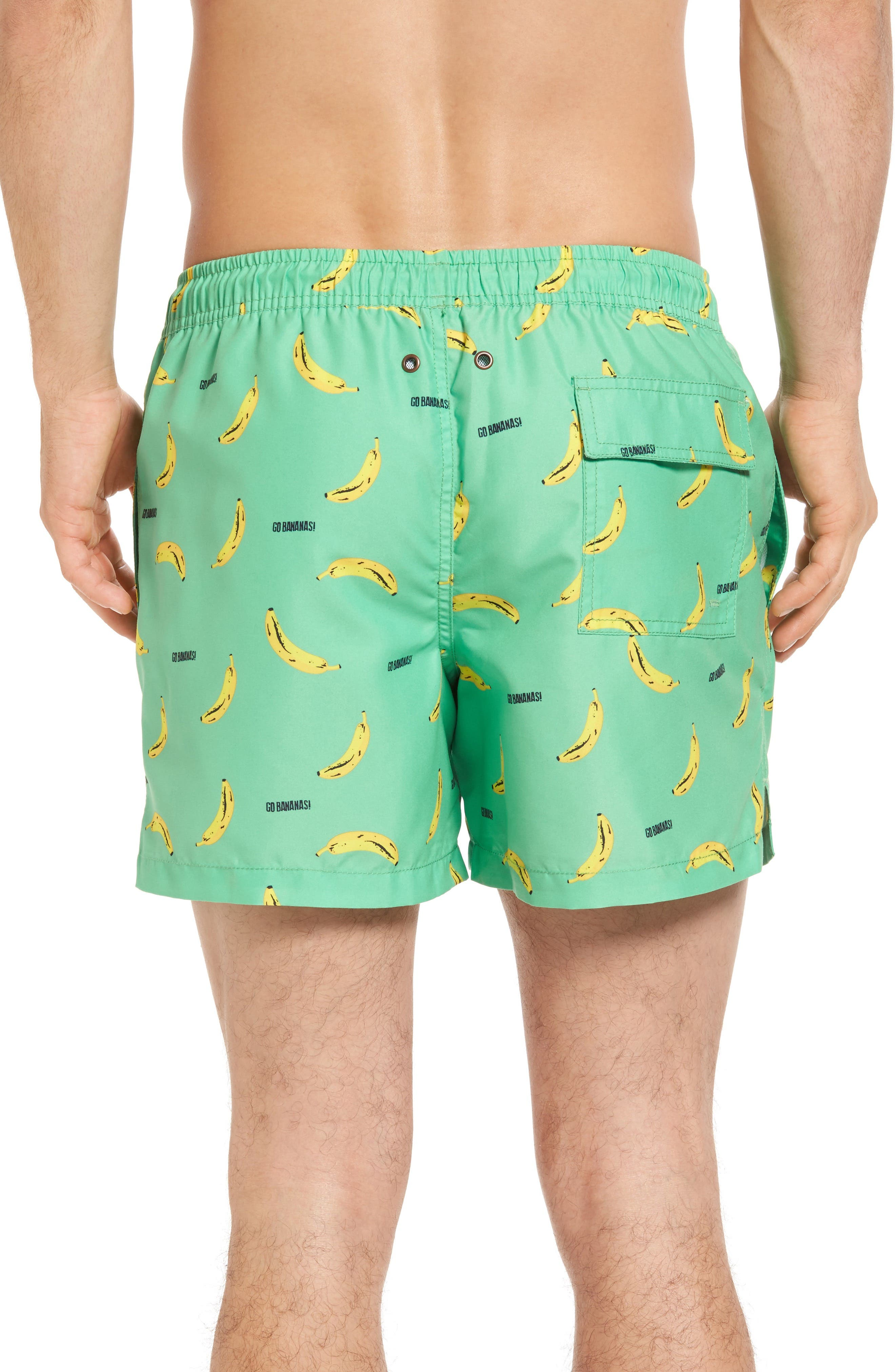 Go Bananas Swim Trunks,                             Alternate thumbnail 2, color,                             300