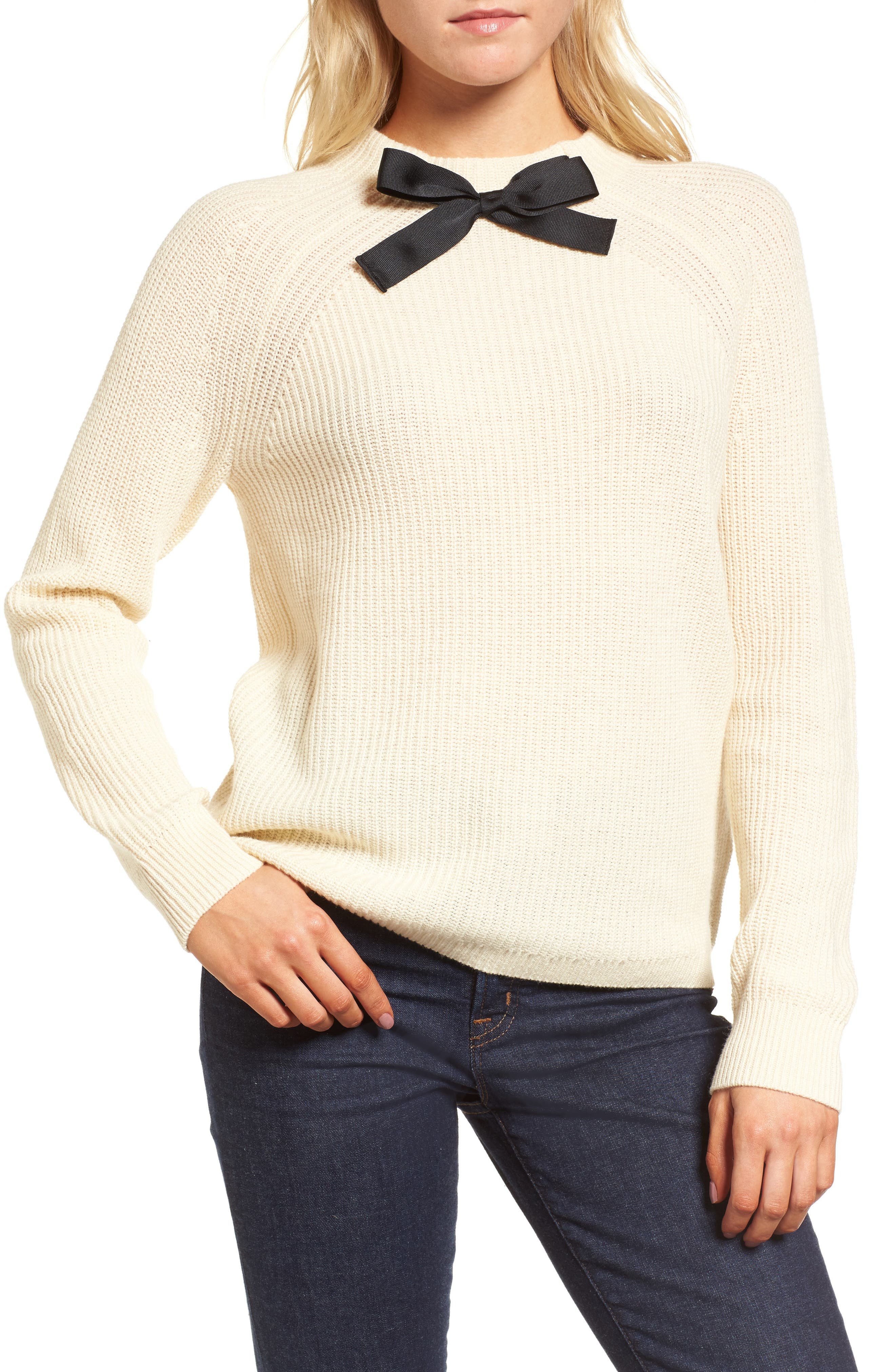 Gayle Tie Neck Sweater,                             Main thumbnail 2, color,