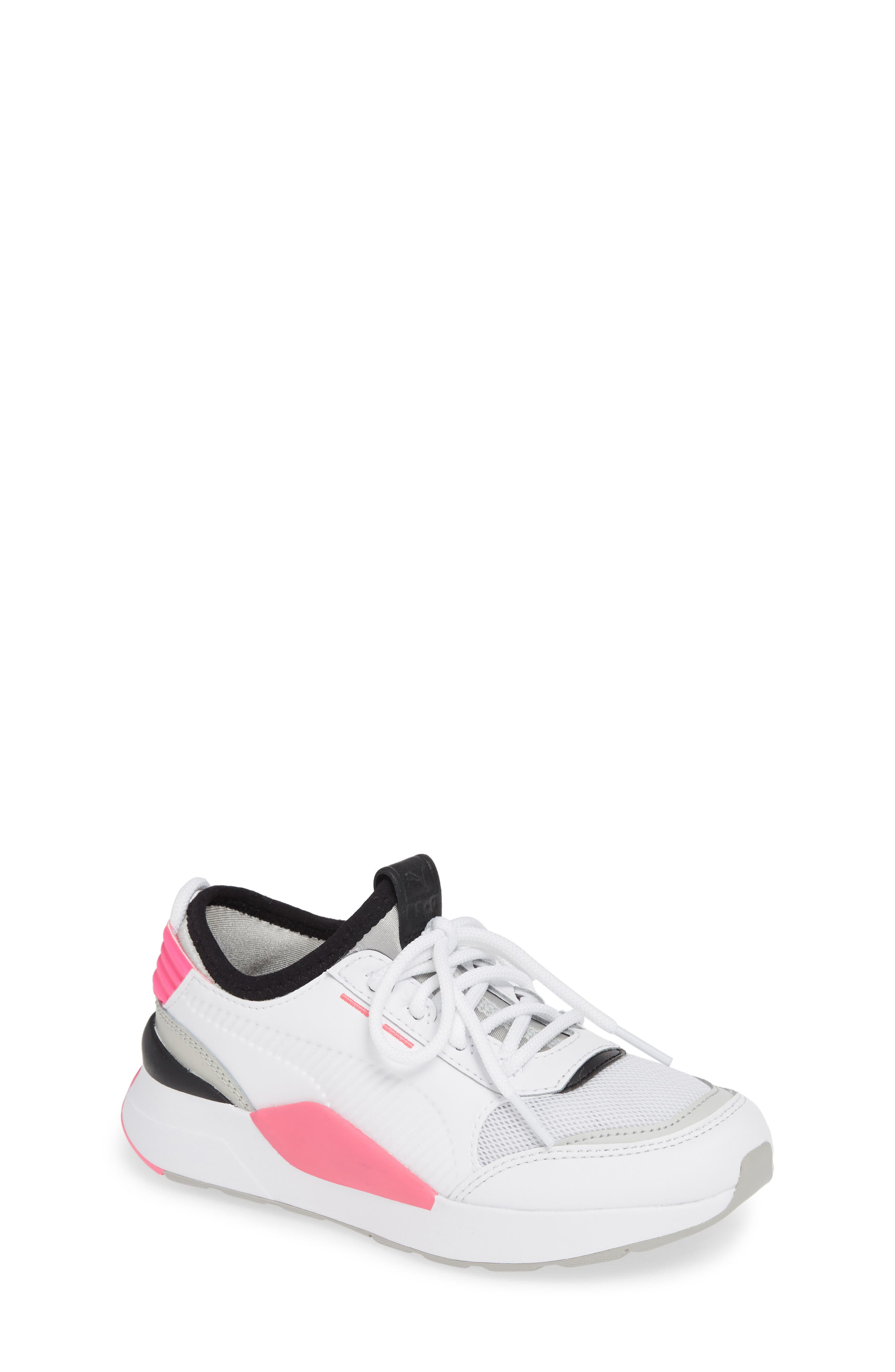 RS-0 Play Sneaker,                         Main,                         color, WHITE/ GRAY VIOLET