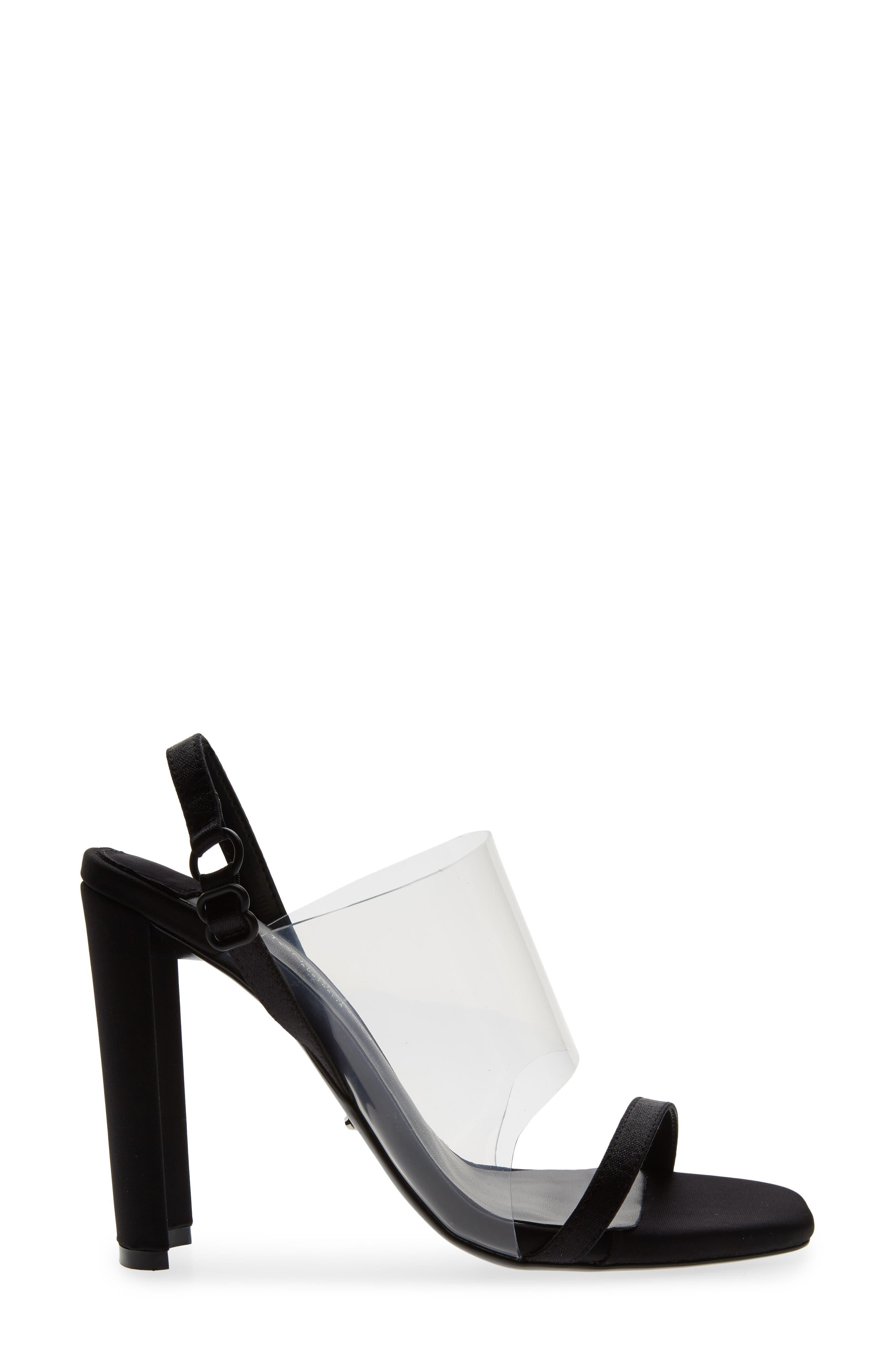 Sandal,                             Alternate thumbnail 3, color,                             BLACK
