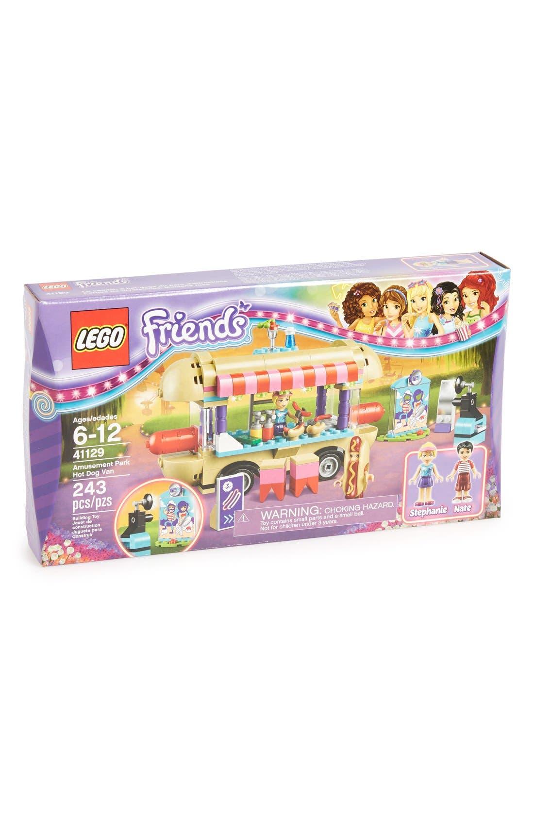 Friends Amusement Park Hot Dog Van - 41129,                             Main thumbnail 1, color,                             500