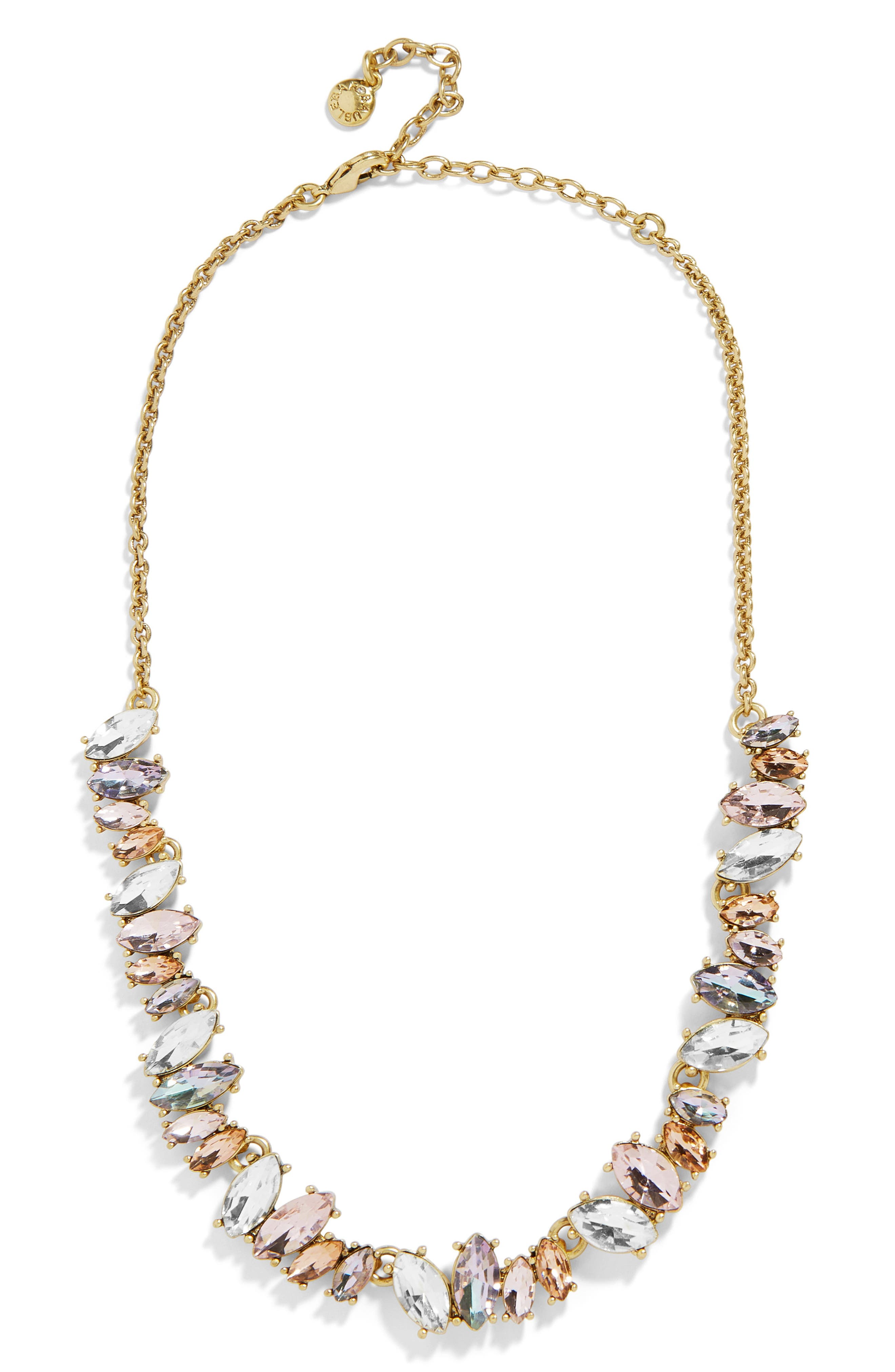 Emilia Statement Necklace,                         Main,                         color, MULTI