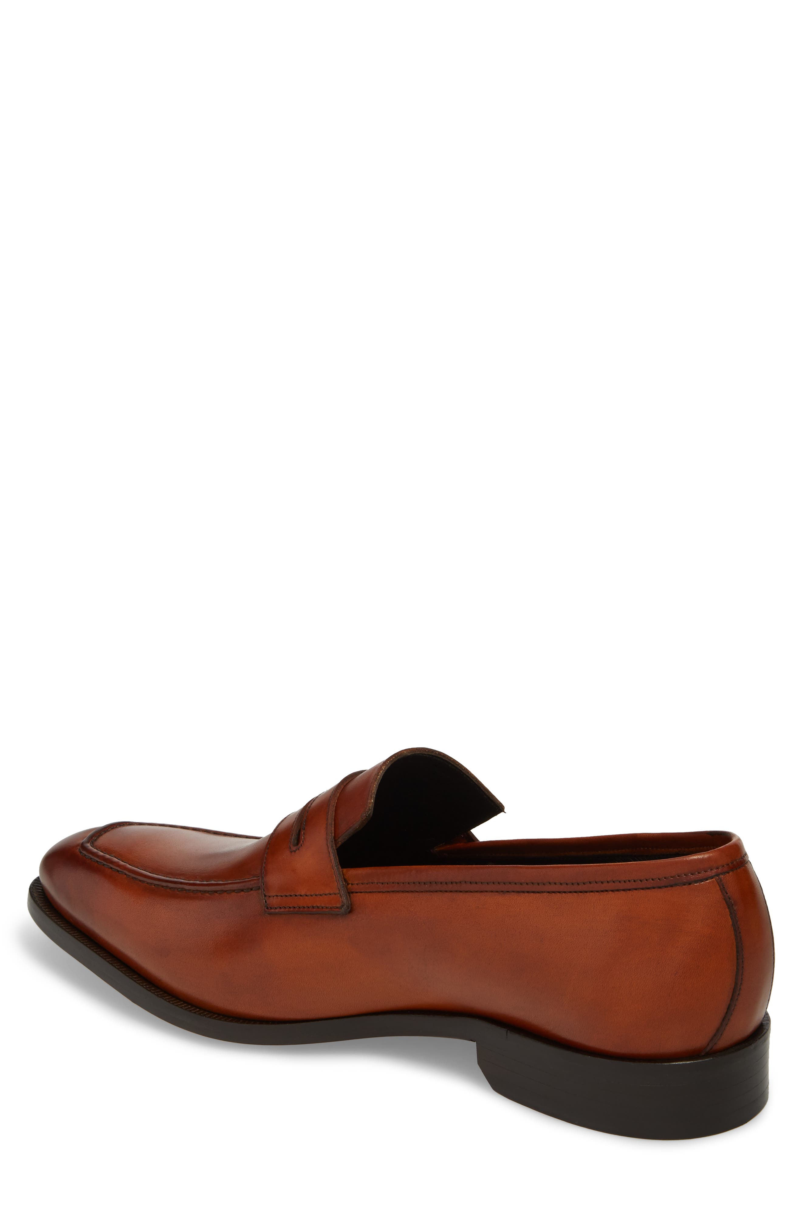 Eastwood Apron Toe Penny Loafer,                             Alternate thumbnail 2, color,                             231