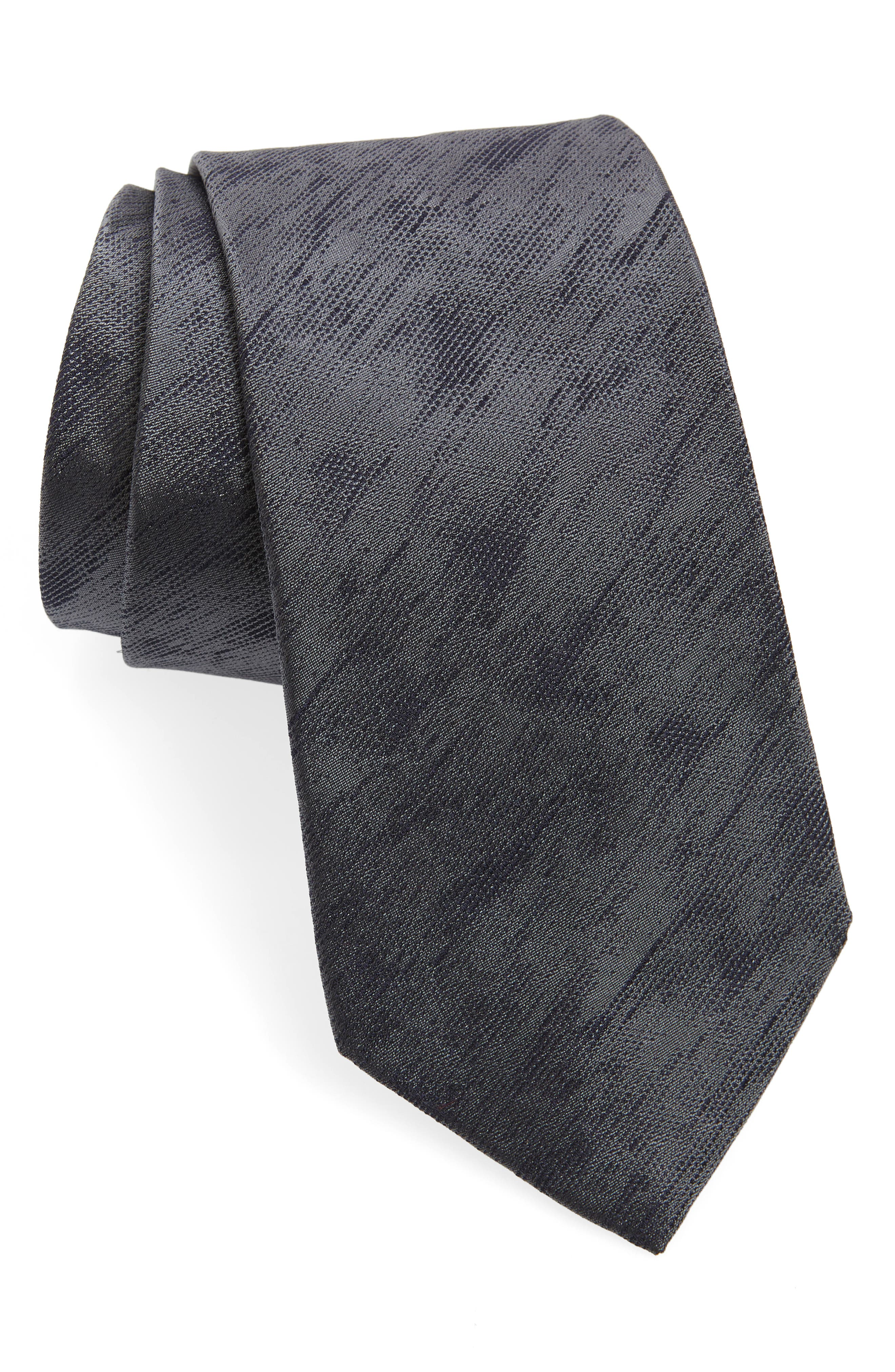 Solid Silk Tie,                             Main thumbnail 1, color,                             STONE