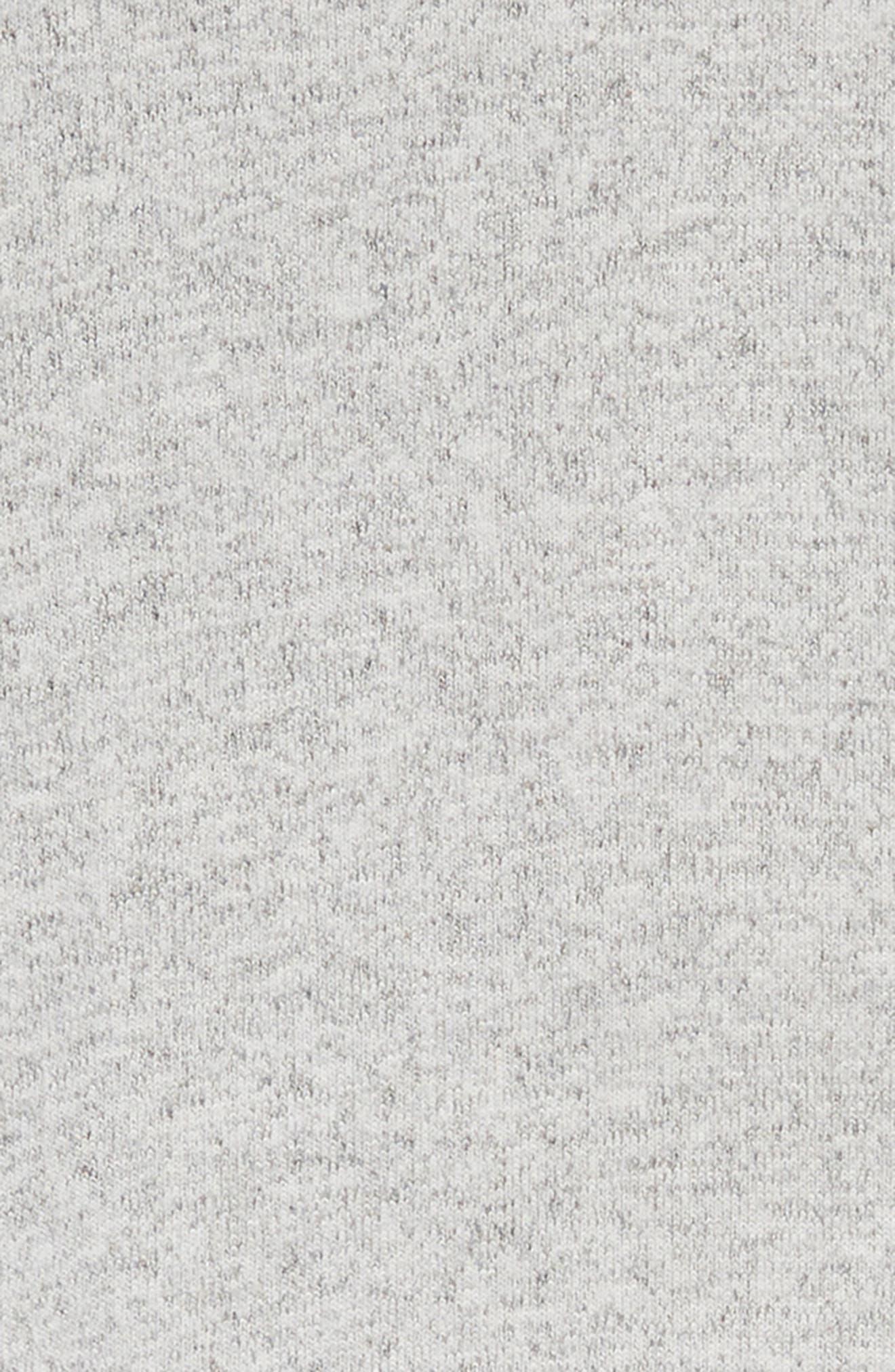 Soft Hooded Dress,                             Alternate thumbnail 3, color,                             GREY ASH HEATHER