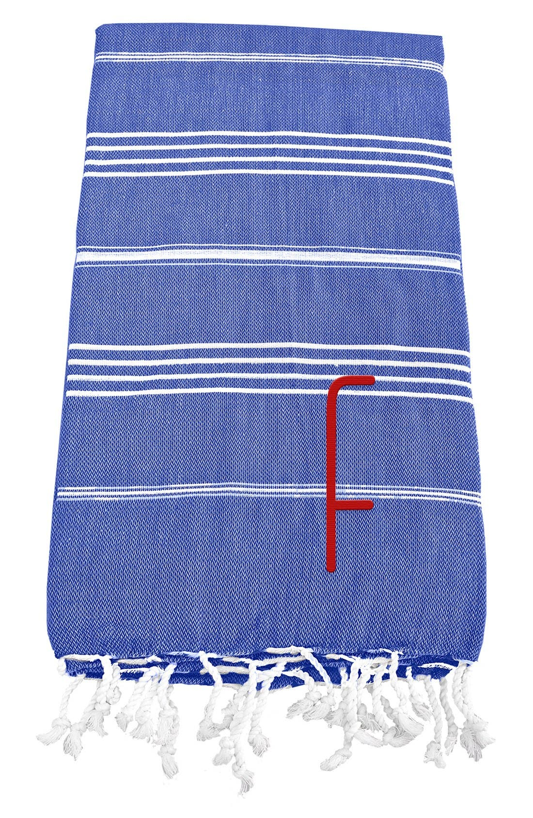 Monogram Turkish Cotton Towel,                             Main thumbnail 62, color,