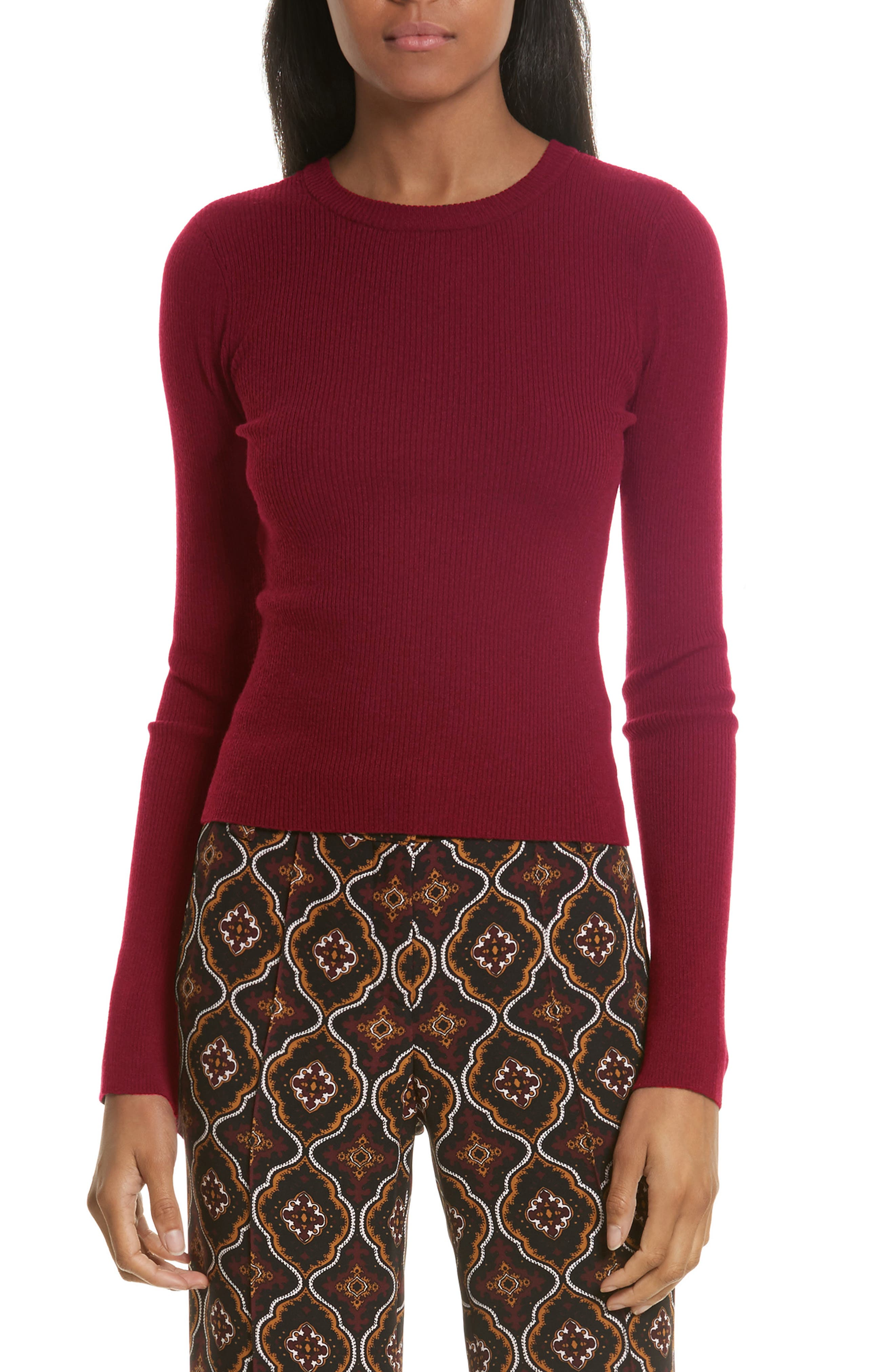 Lewis Merino Wool Blend Sweater,                             Main thumbnail 3, color,