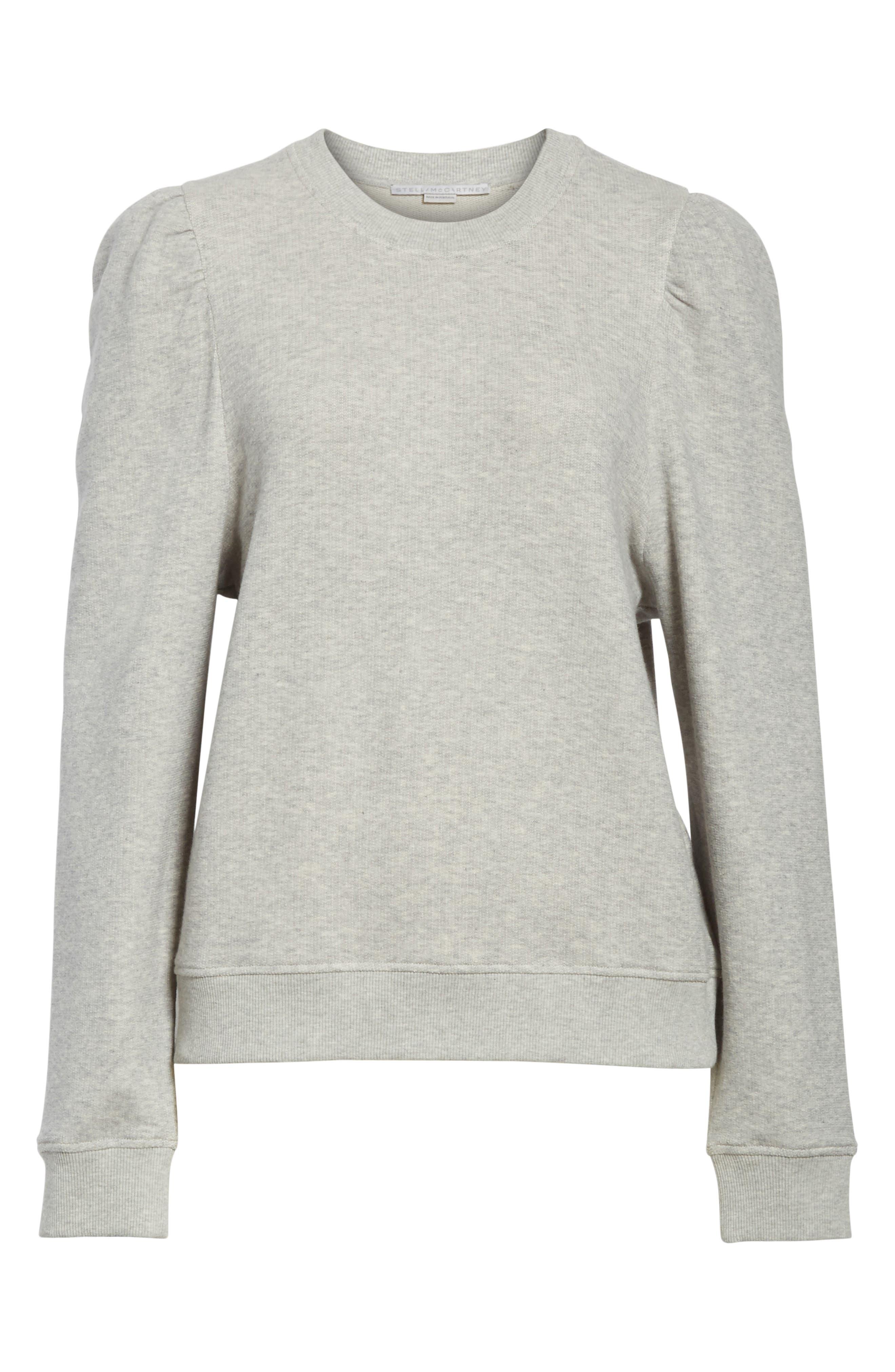 Puff Shoulder Sweater,                             Alternate thumbnail 6, color,                             030
