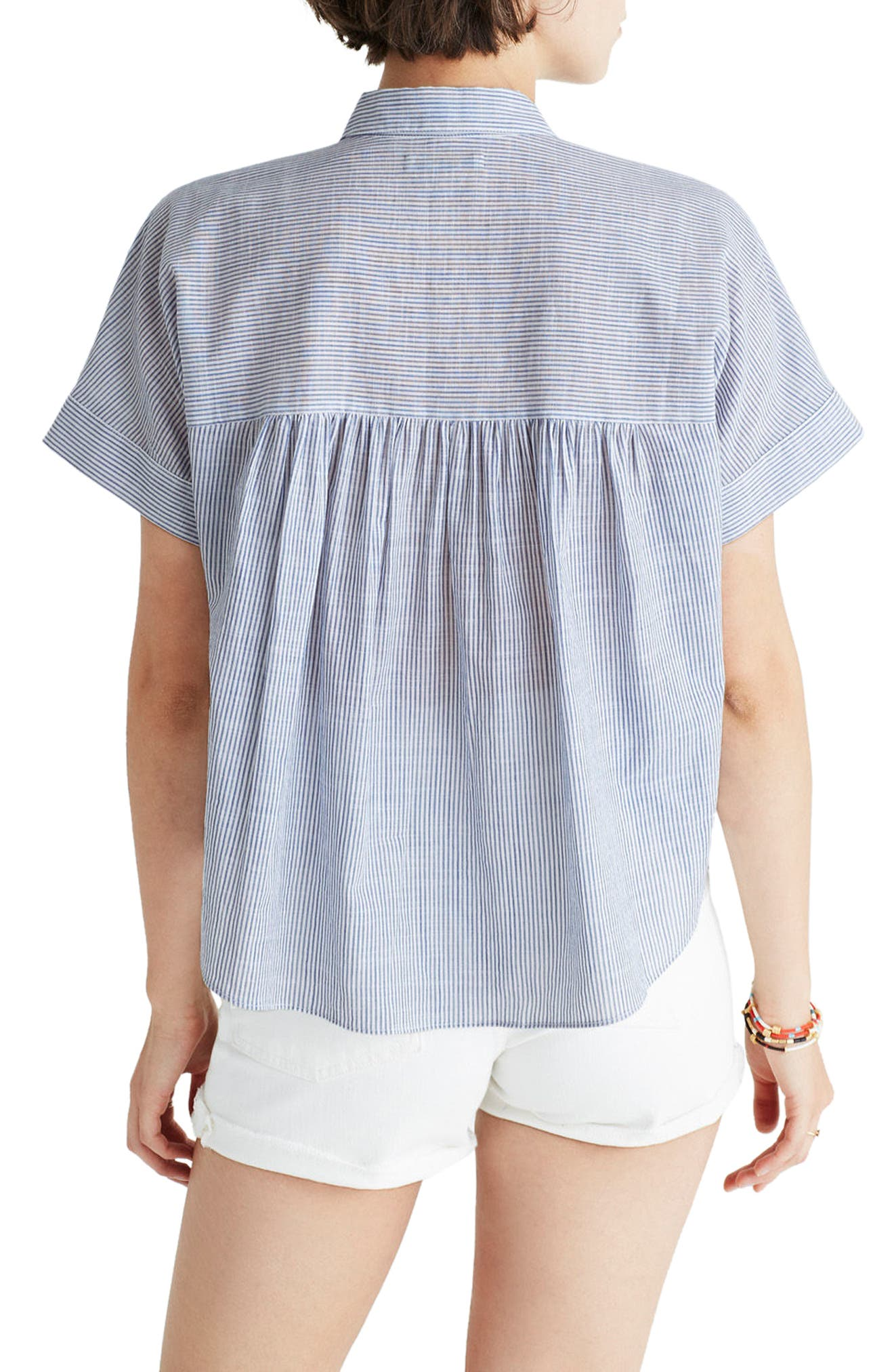 MADEWELL,                             Embroidered Hilltop Shirt,                             Alternate thumbnail 2, color,                             400