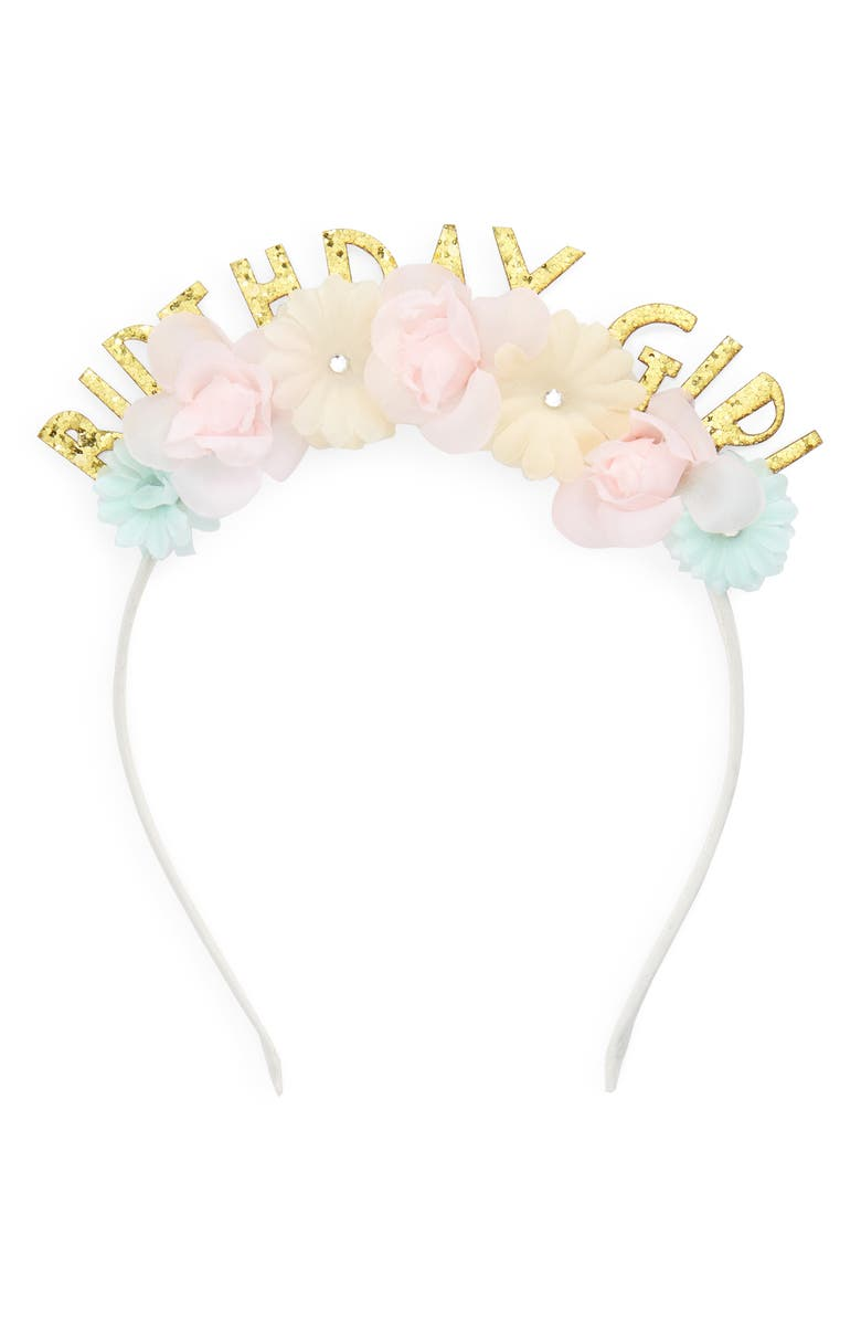 Capelli New York Birthday Girl Headband (Girls)  997b3938607