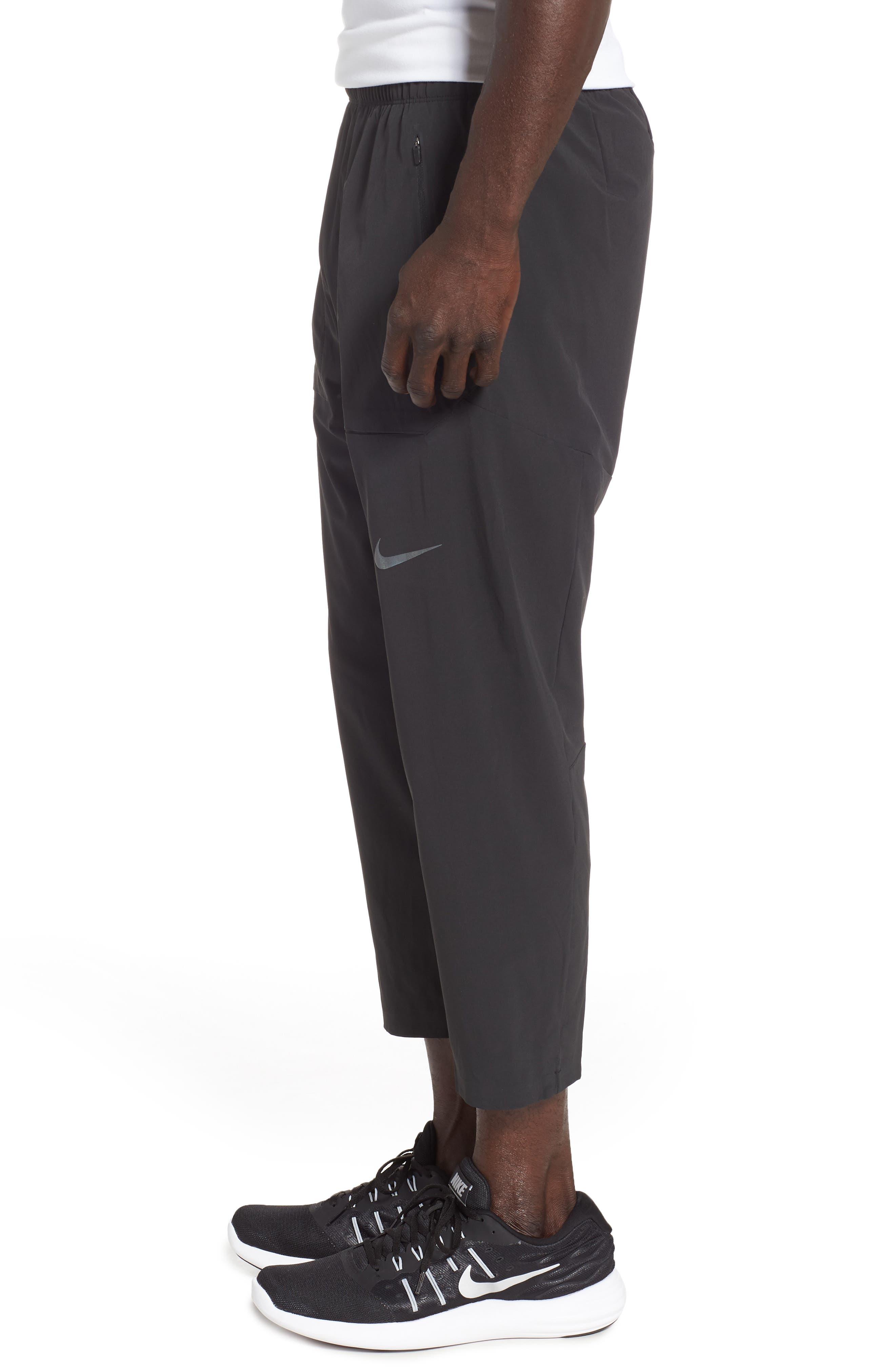 Run Division Running Pants,                             Alternate thumbnail 3, color,                             BLACK/ BLACK