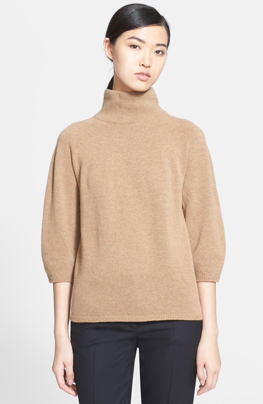 MAX MARA,                             'Anselmo' Wool & Cashmere Sweater,                             Main thumbnail 1, color,                             232
