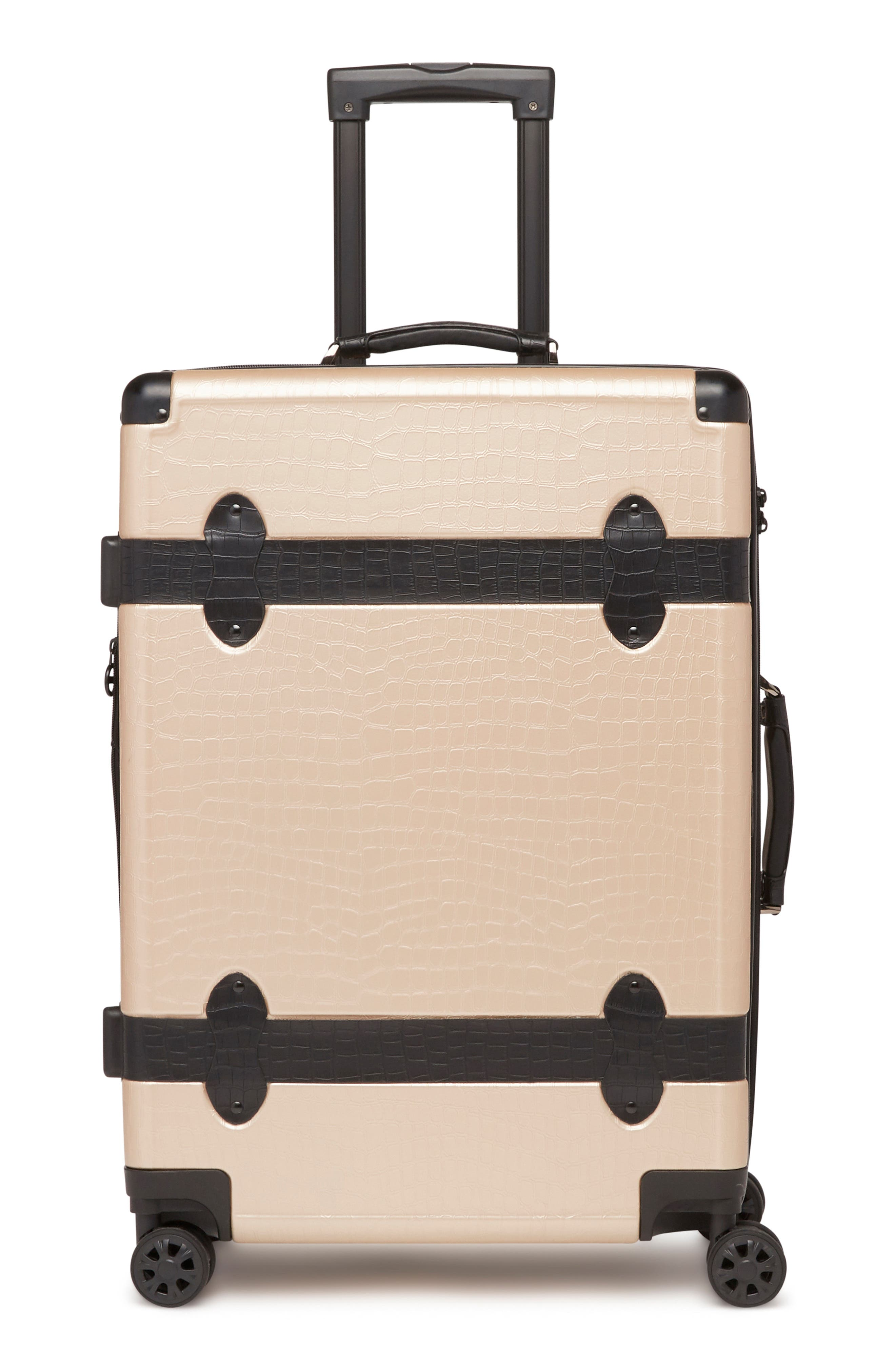 Pullman 3-Piece Spinner Luggage Set,                             Alternate thumbnail 3, color,                             NUDE